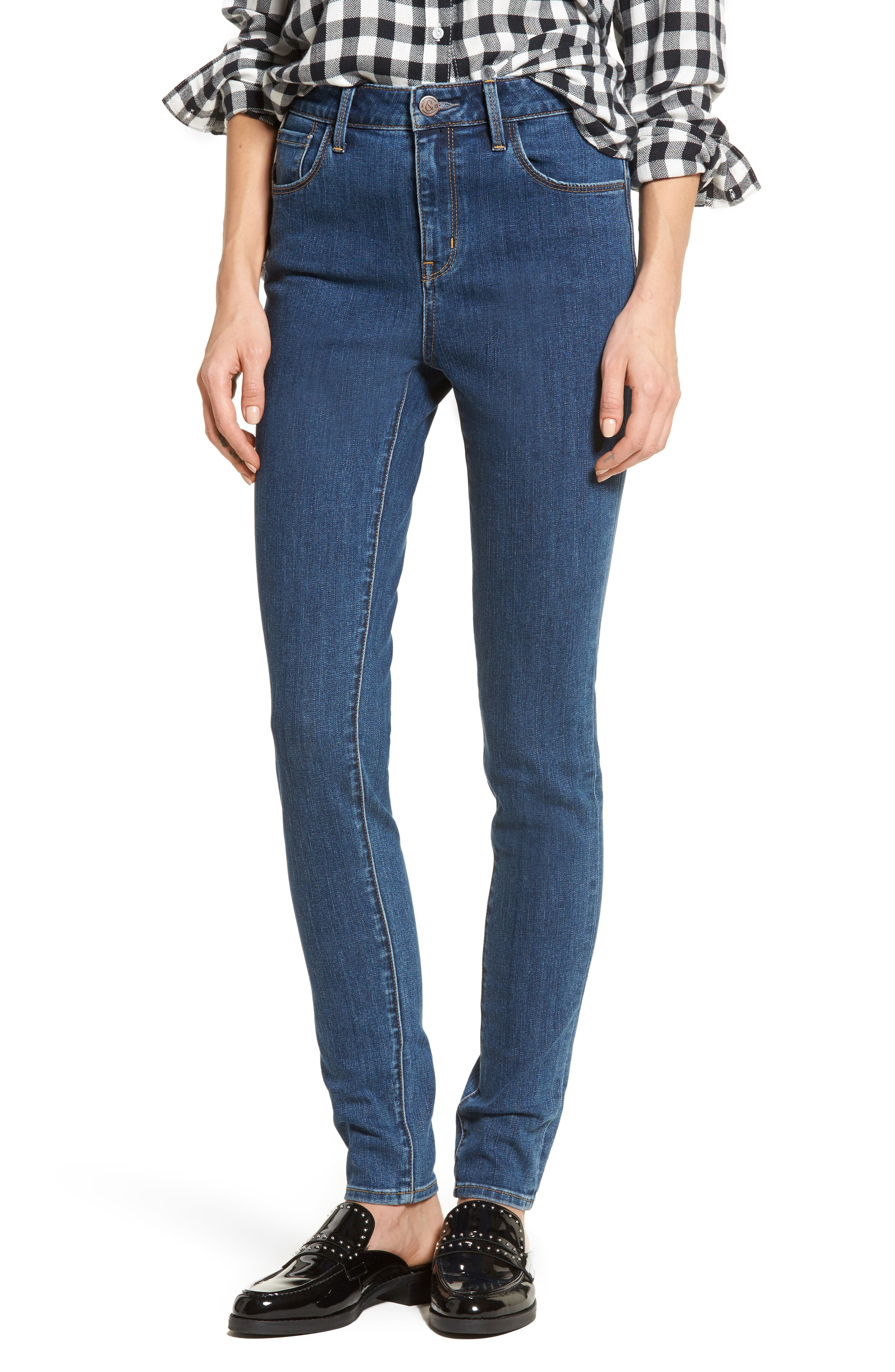 Charity High Waist Skinny Jeans,                         Main,                         color,