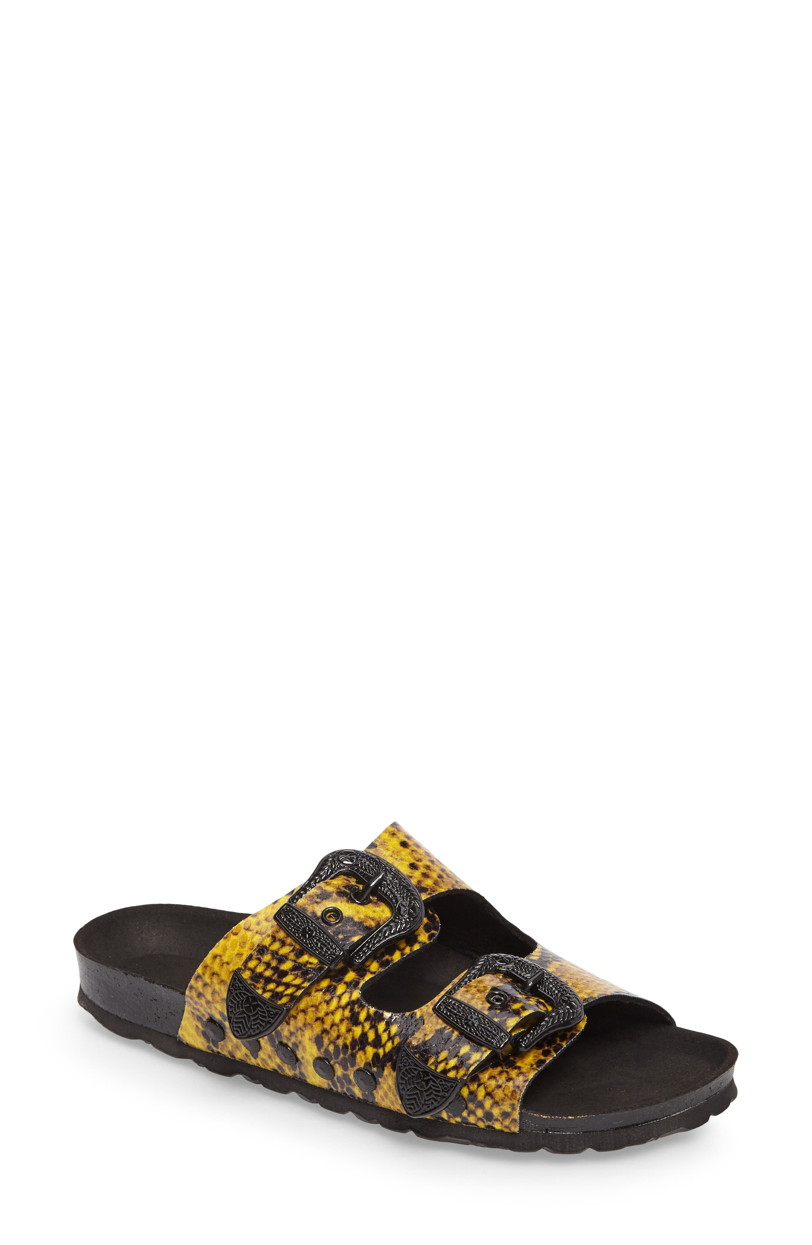 Studded Slide Sandal,                             Main thumbnail 2, color,