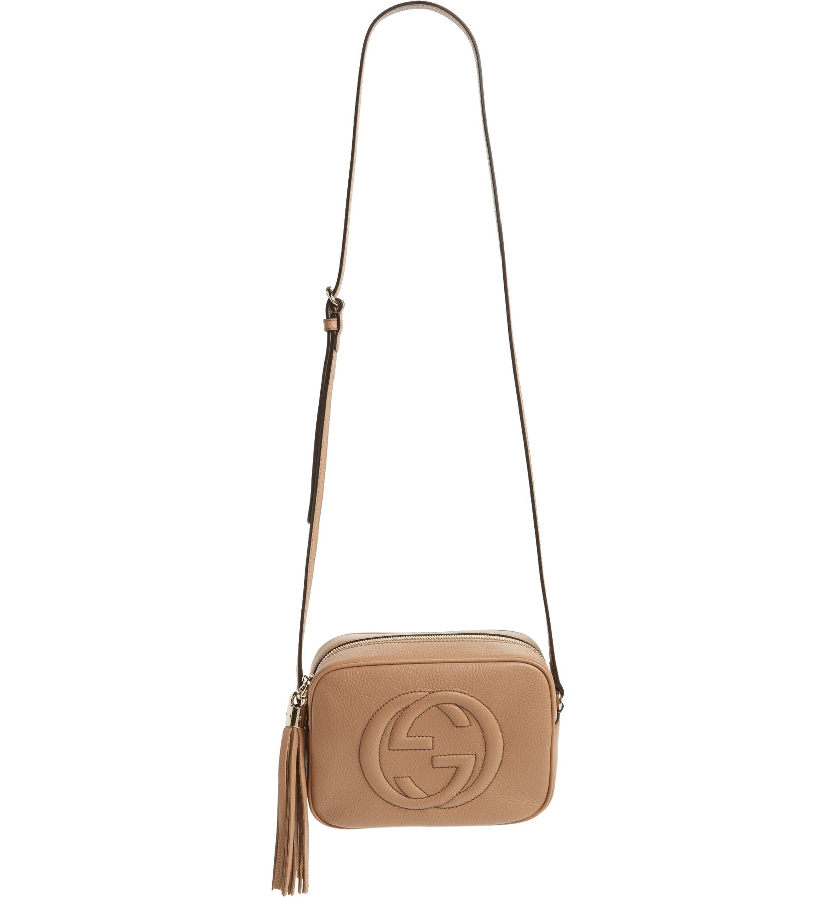 Gucci Soho Disco Leather Bag  c6144c872