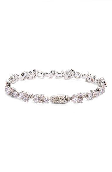 d86c7e024 Nadri. Women's Metallic Cubic Zirconia Cluster Line Bracelet (nordstrom  Exclusive). Product Image 0 .