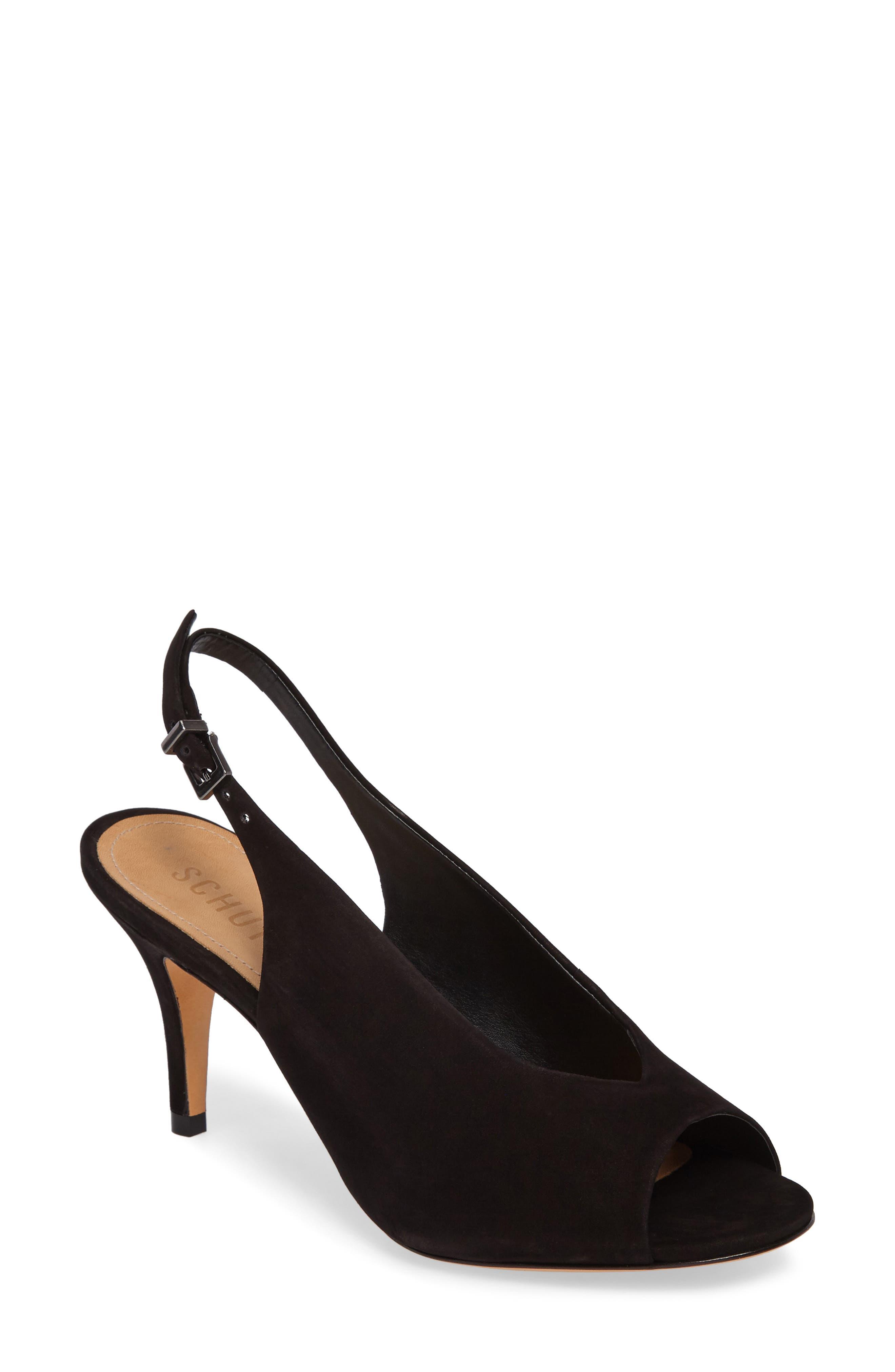 Mendy Slingback Sandal,                         Main,                         color, 001