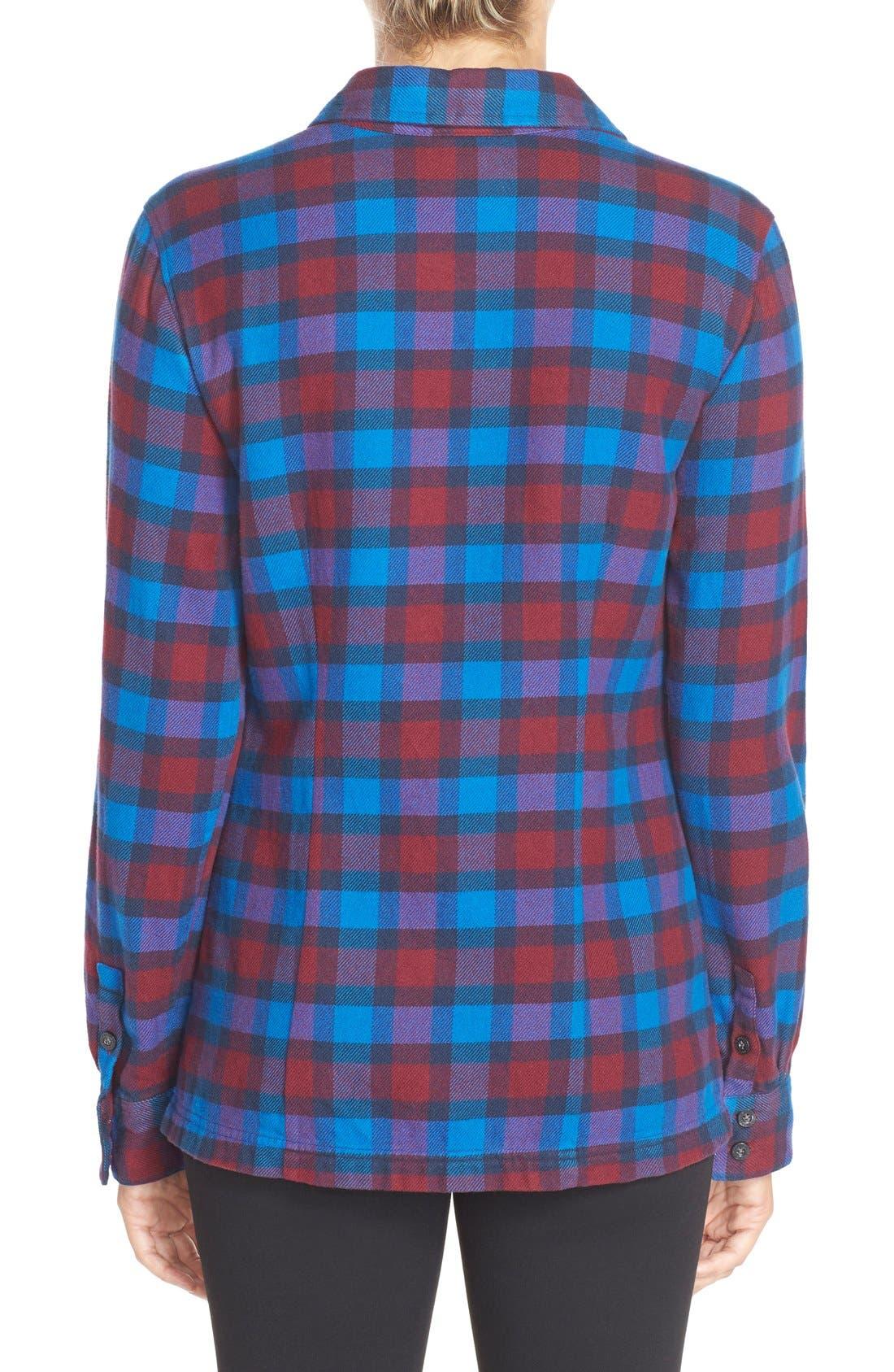 'Fjord' Flannel Shirt,                             Alternate thumbnail 89, color,