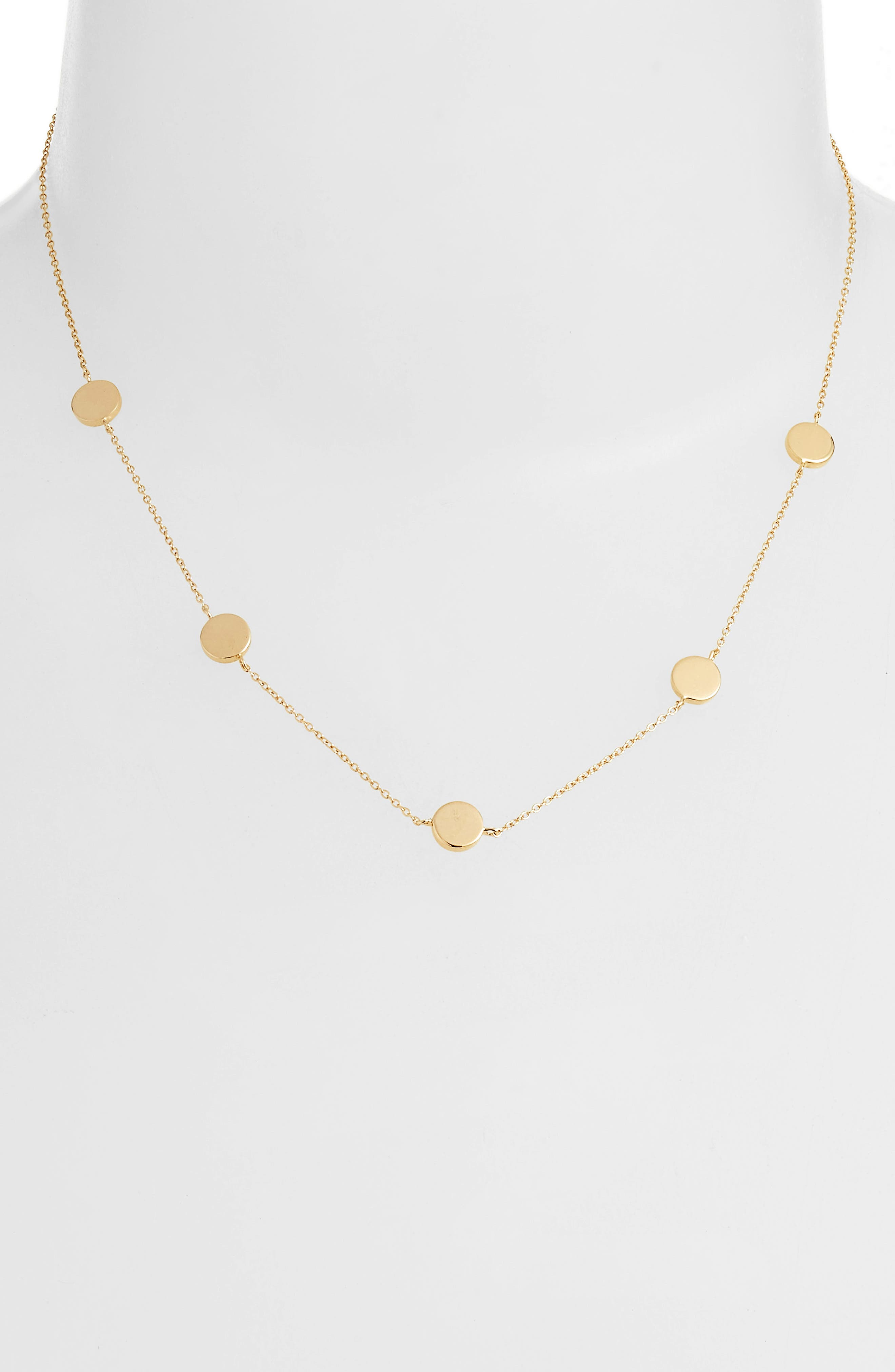 Lupita Necklace,                         Main,                         color, YELLOW VERMEIL