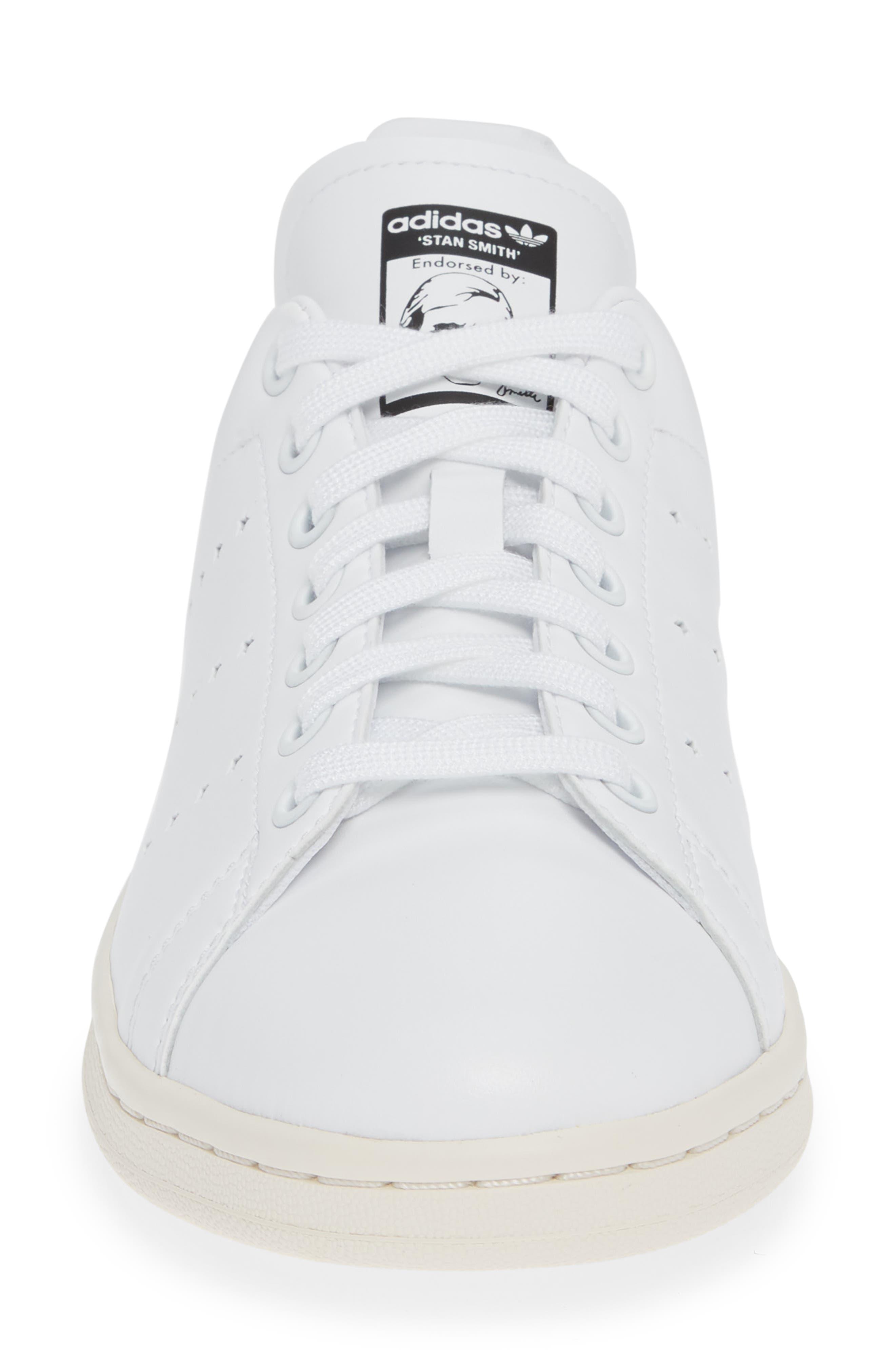 Stan Smith Sneaker,                             Alternate thumbnail 4, color,                             WHITE