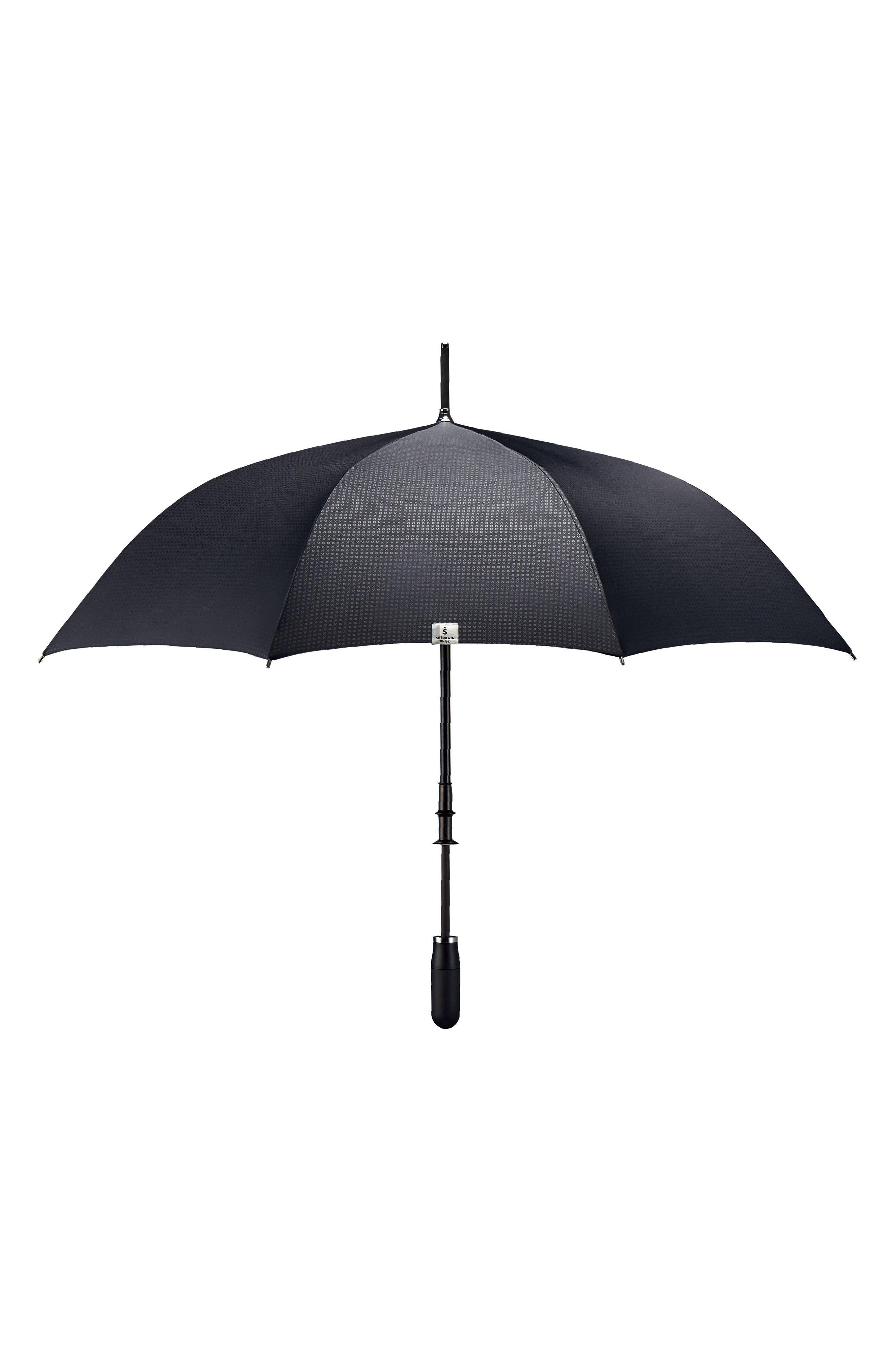 Stratus Auto Open Stick Umbrella,                             Alternate thumbnail 5, color,