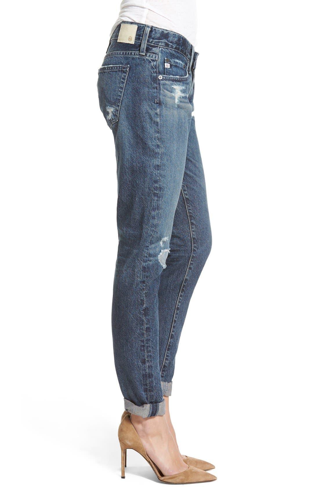 AG,                             'The Nikki' Relaxed Skinny Jeans,                             Alternate thumbnail 2, color,                             401