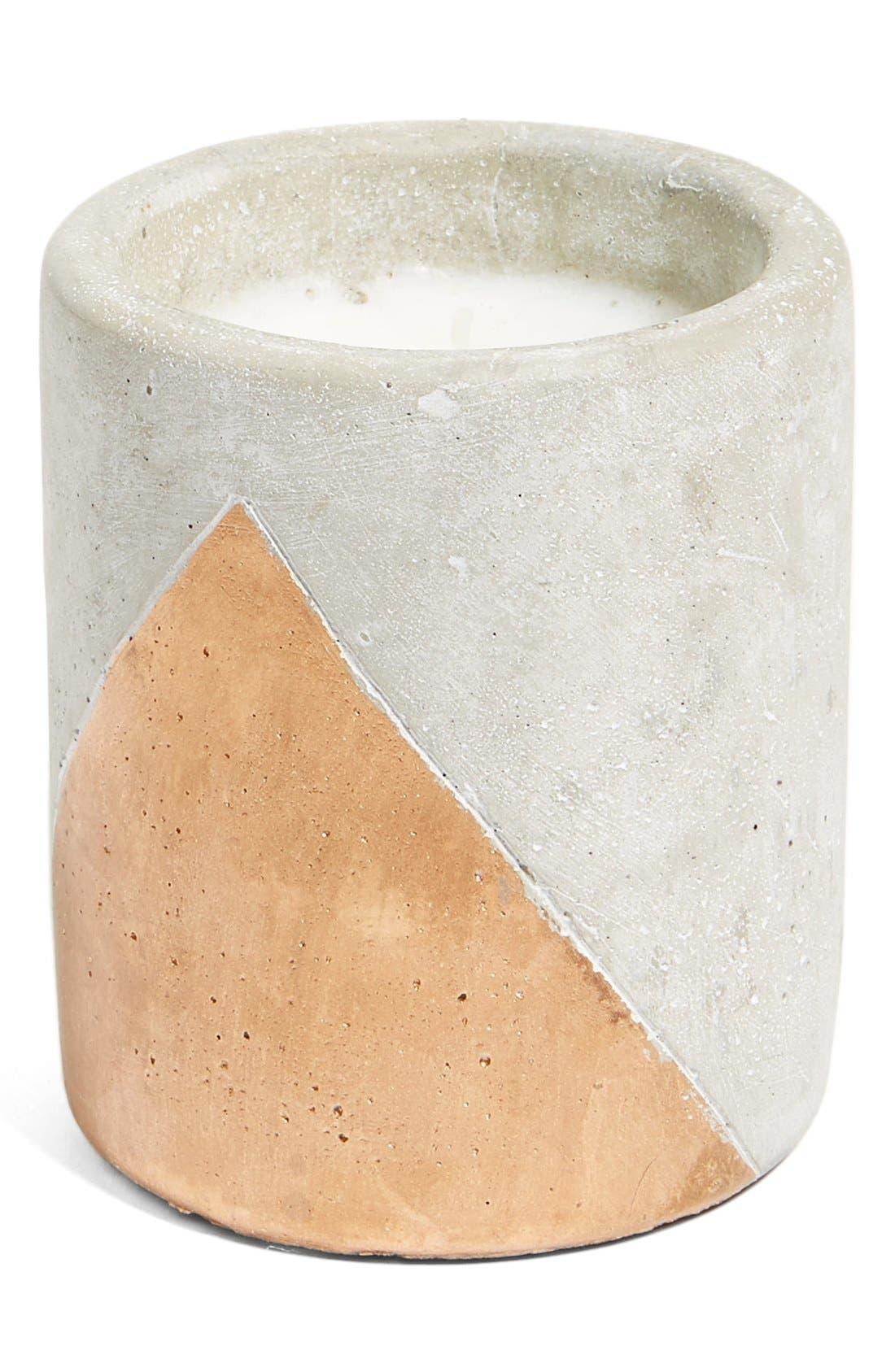 Urban Concrete Soy Wax Candle,                             Main thumbnail 2, color,