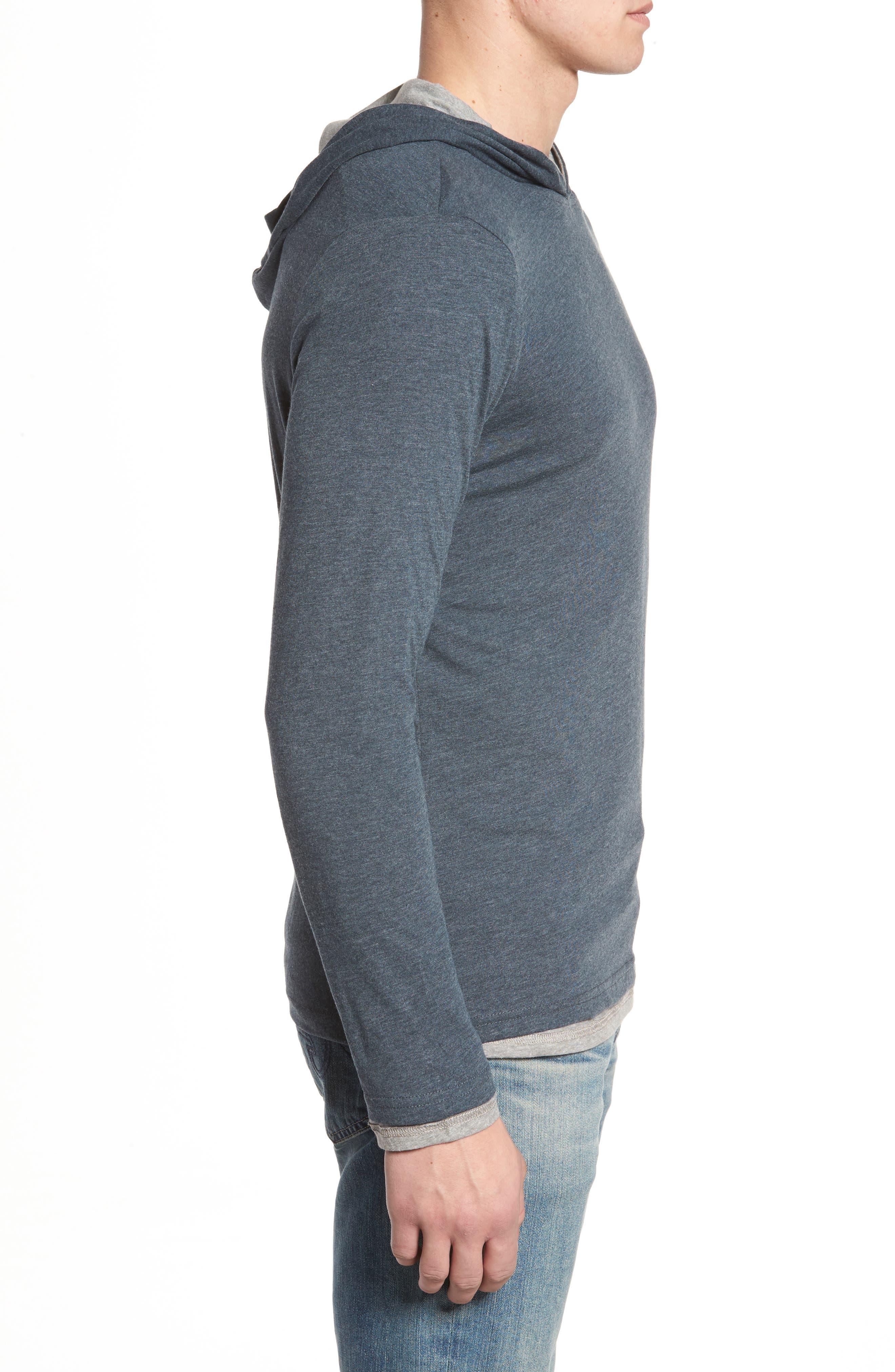 Reversible Hooded Jersey T-Shirt,                             Alternate thumbnail 11, color,