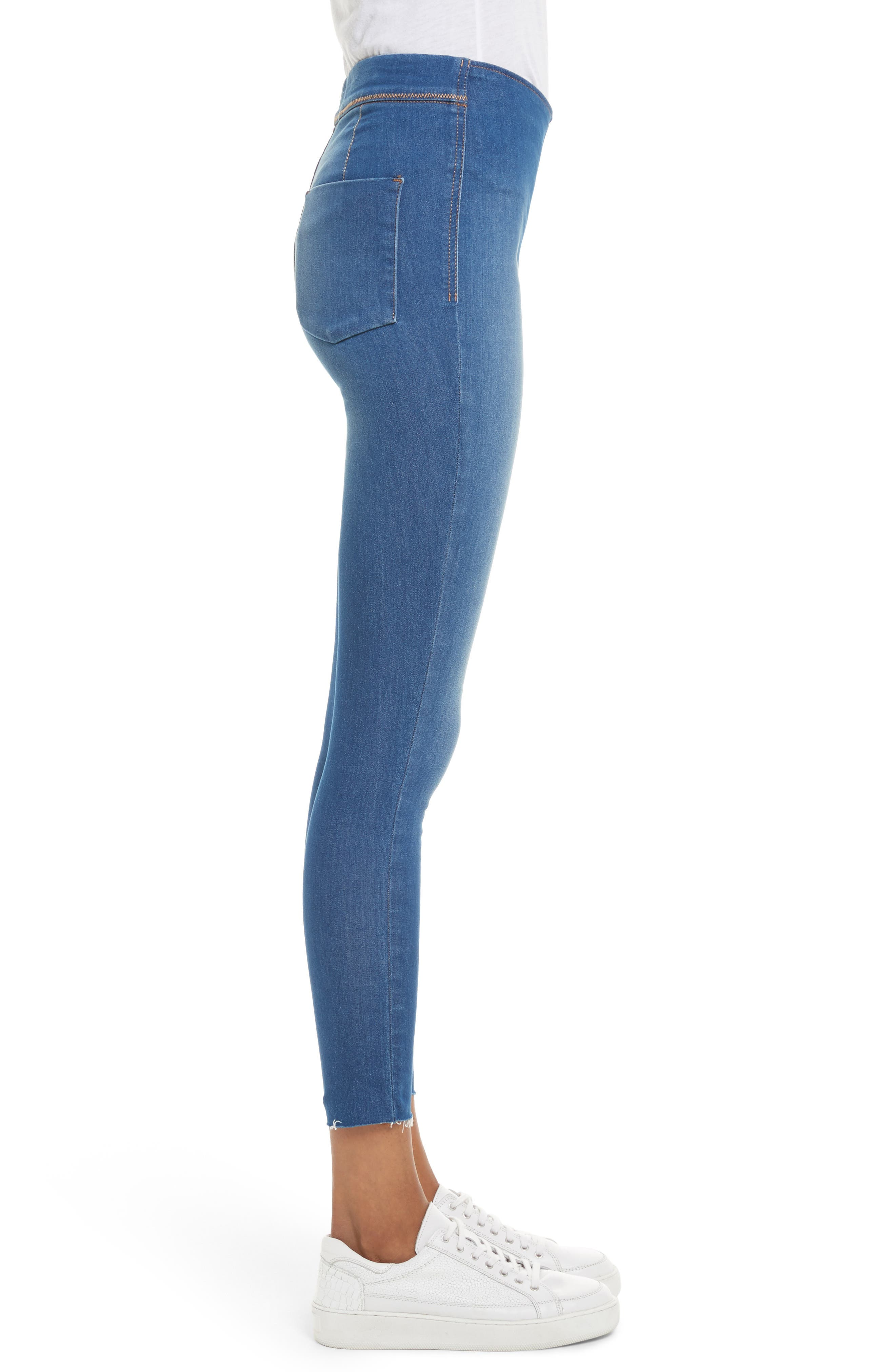 We the Free by Free People Easy Goes It Denim Leggings,                             Alternate thumbnail 3, color,                             400