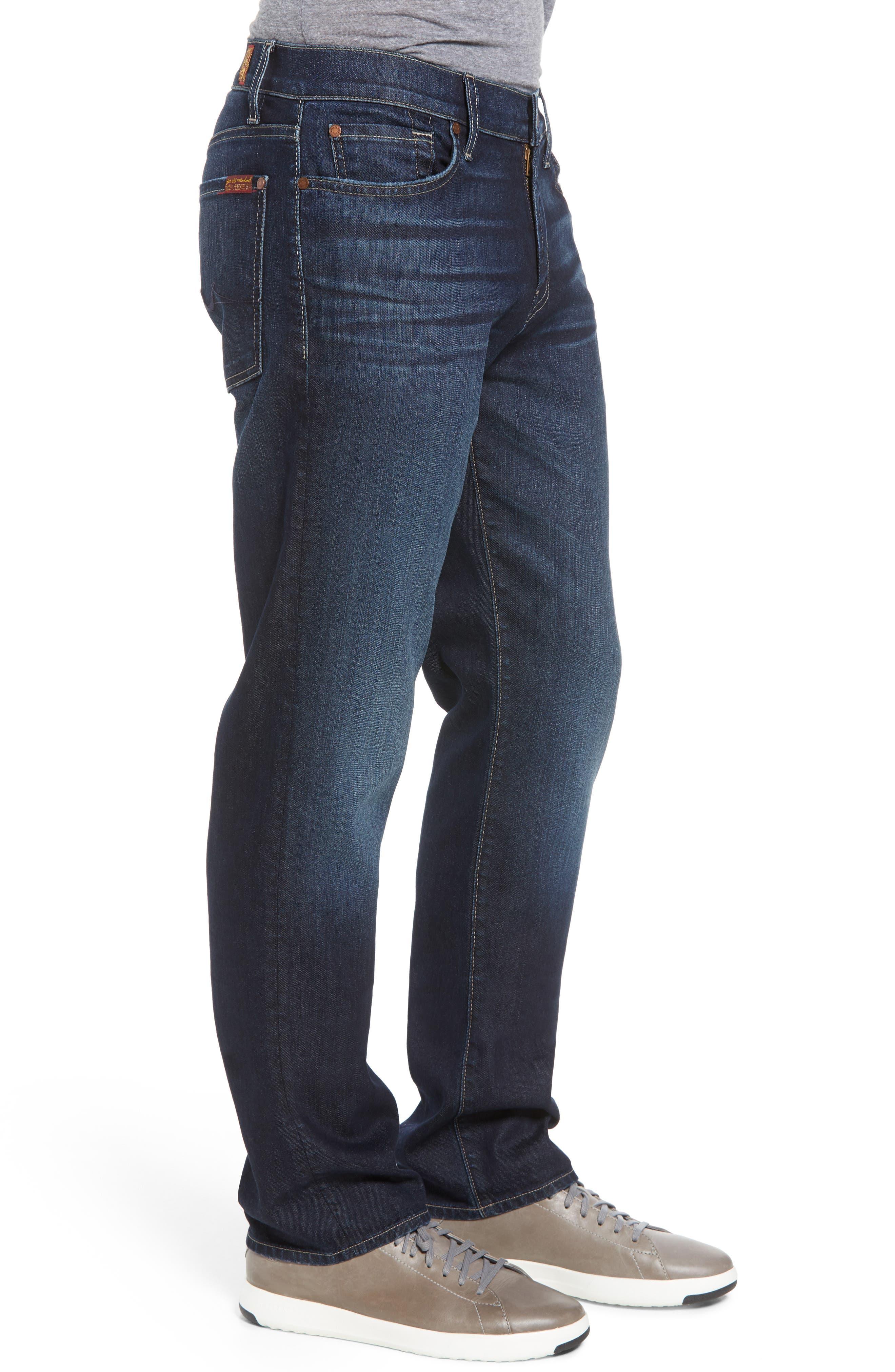 Airweft Standard Straight Leg Jeans,                             Alternate thumbnail 3, color,                             405