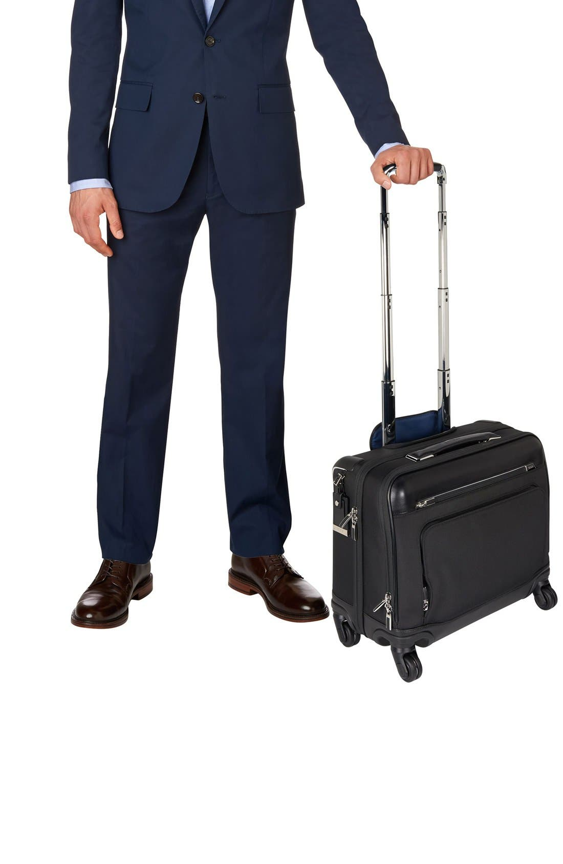 TUMI,                             McAllen Wheeled Briefcase,                             Alternate thumbnail 2, color,                             001