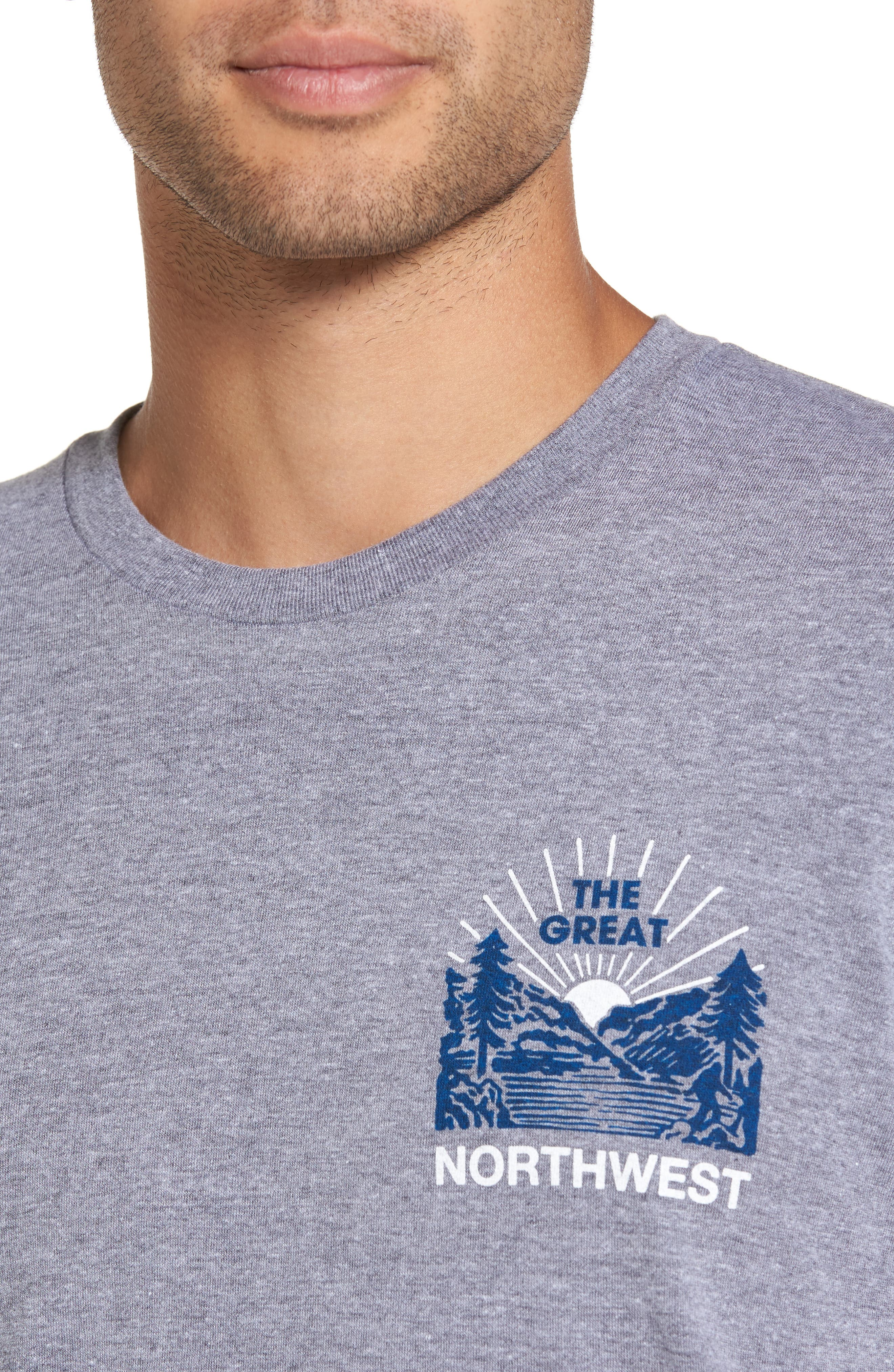 Squatch Valley 2 Graphic T-Shirt,                             Alternate thumbnail 4, color,                             070