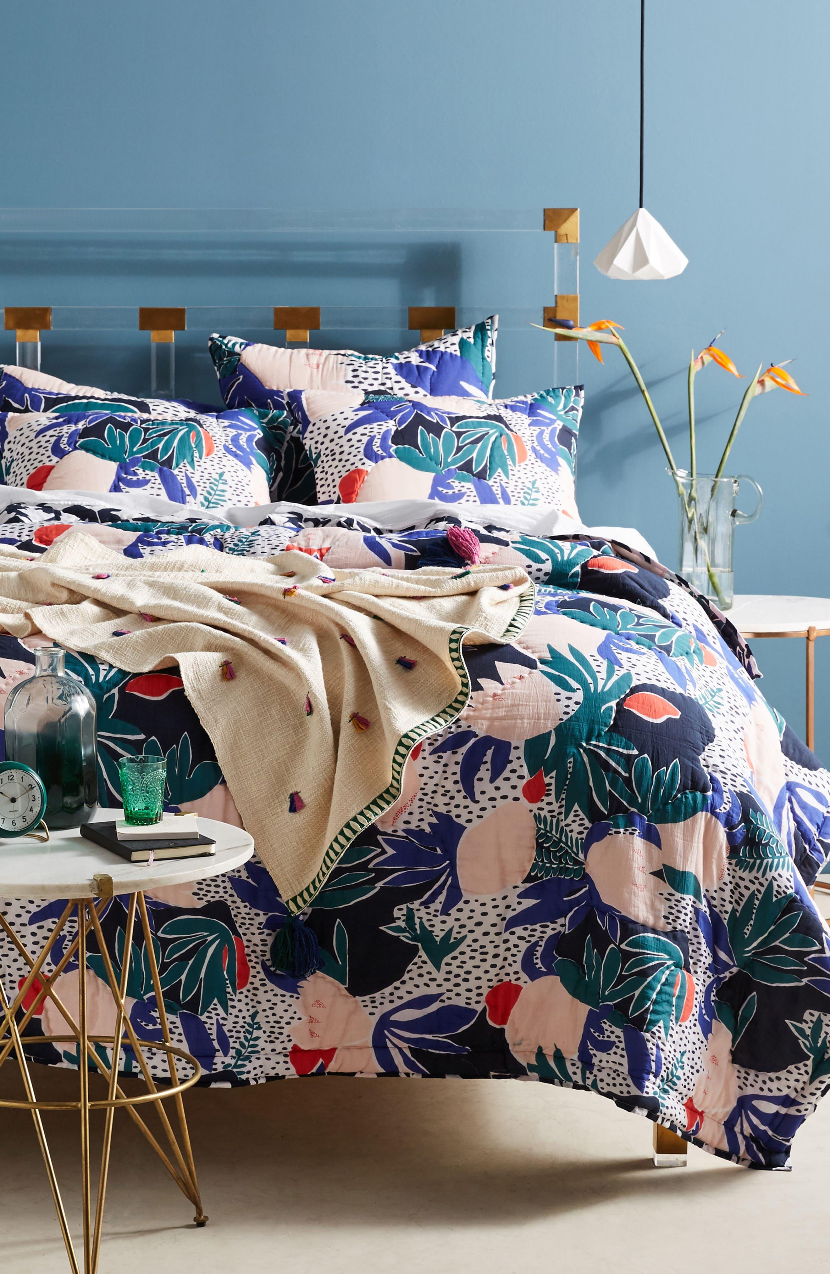 Cassie Byrnes Melbourne Quilt, Main, color, 400