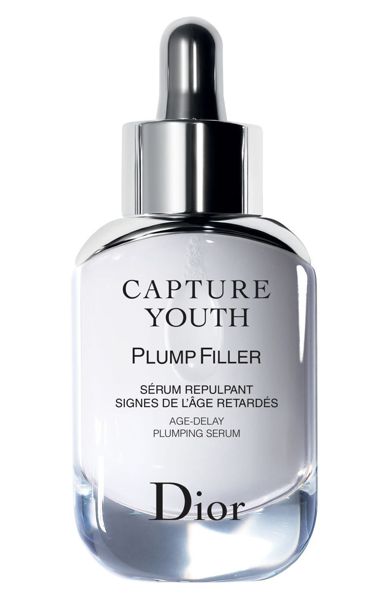 Capture Youth Plump Filler Age-Delay Plumping Serum,                             Main thumbnail 1, color,                             NO COLOR