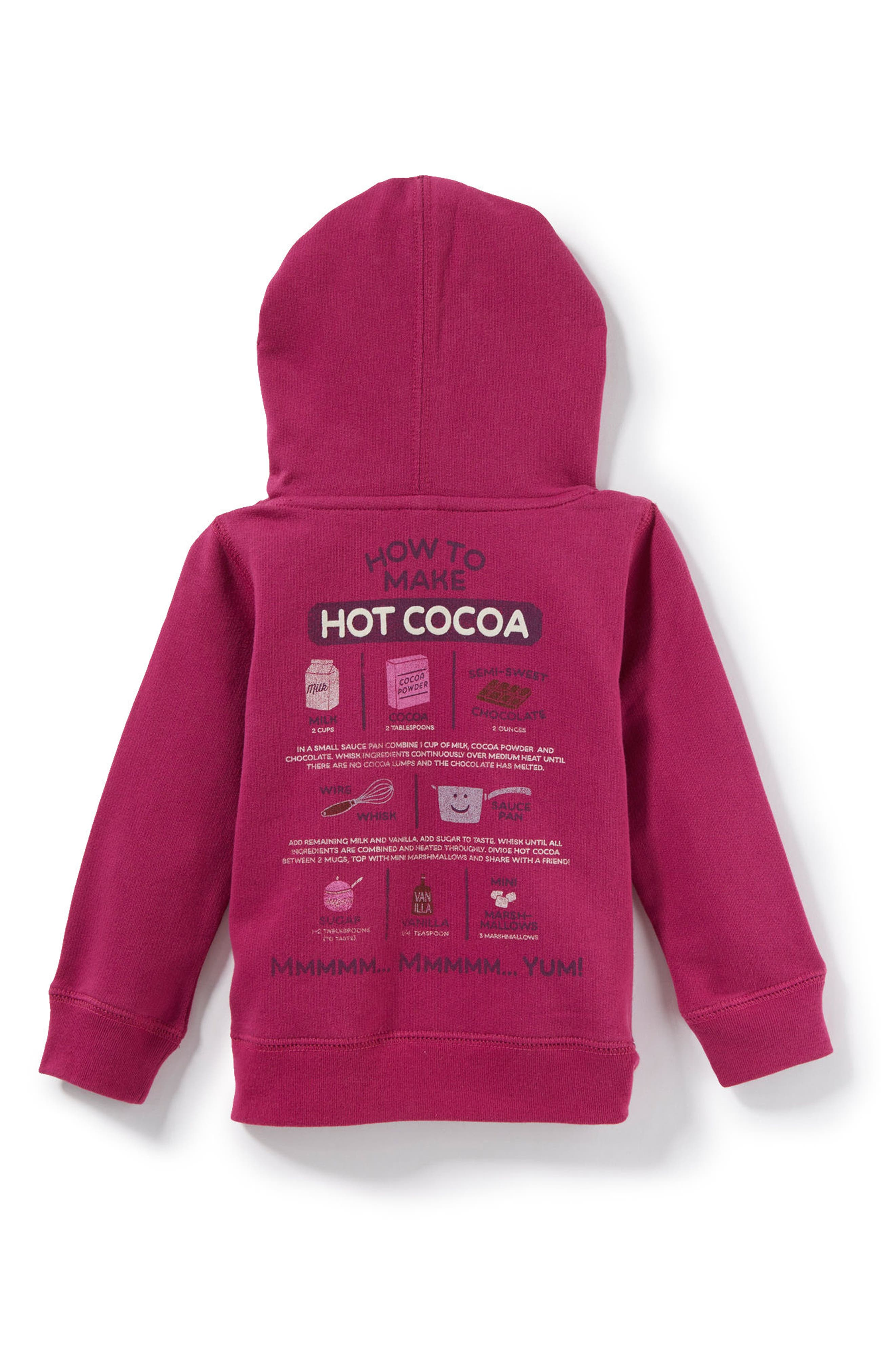 It's Cocoa Time Graphic Hoodie,                             Alternate thumbnail 2, color,