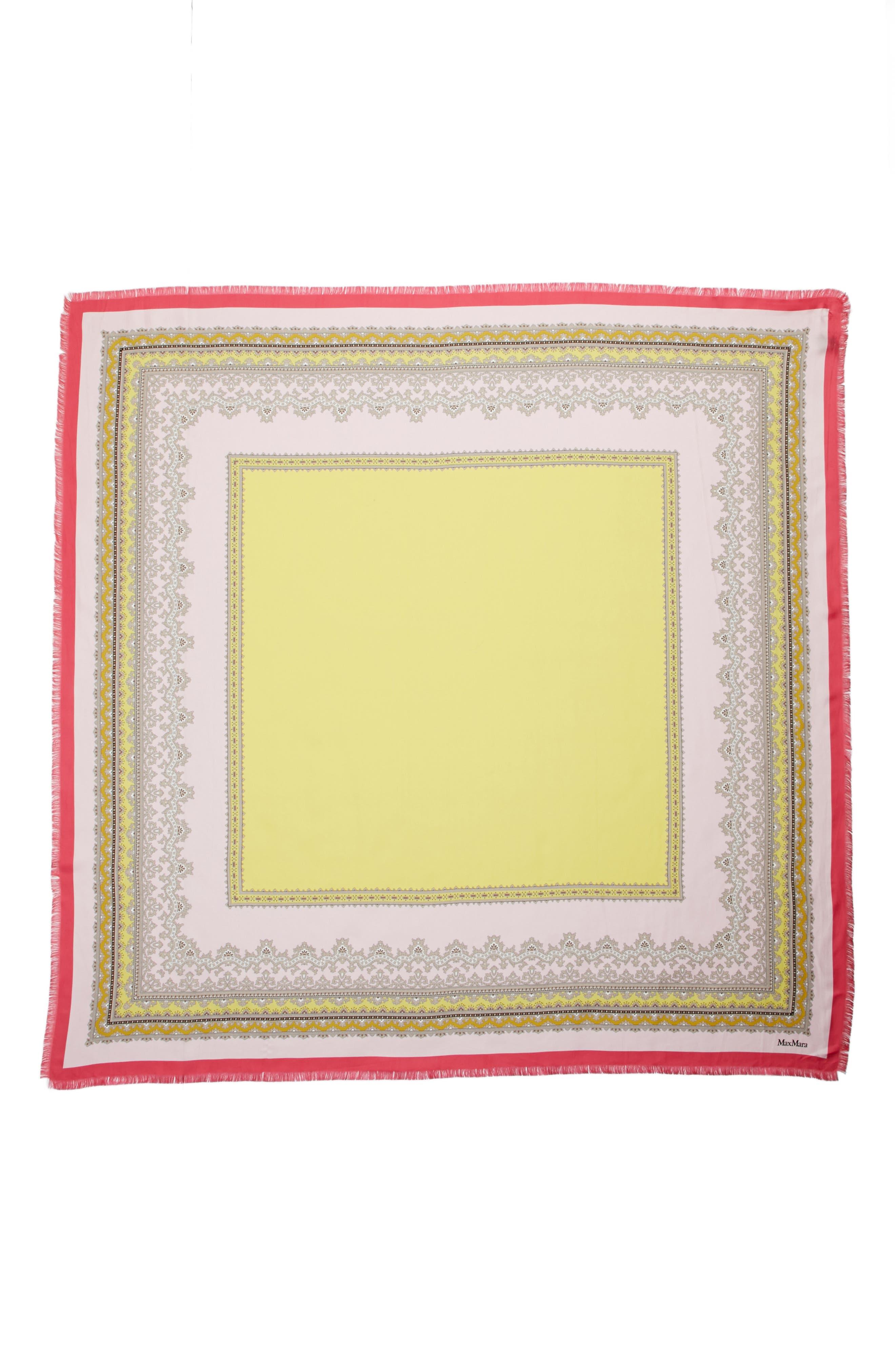 Ginepro Silk Scarf,                             Main thumbnail 1, color,