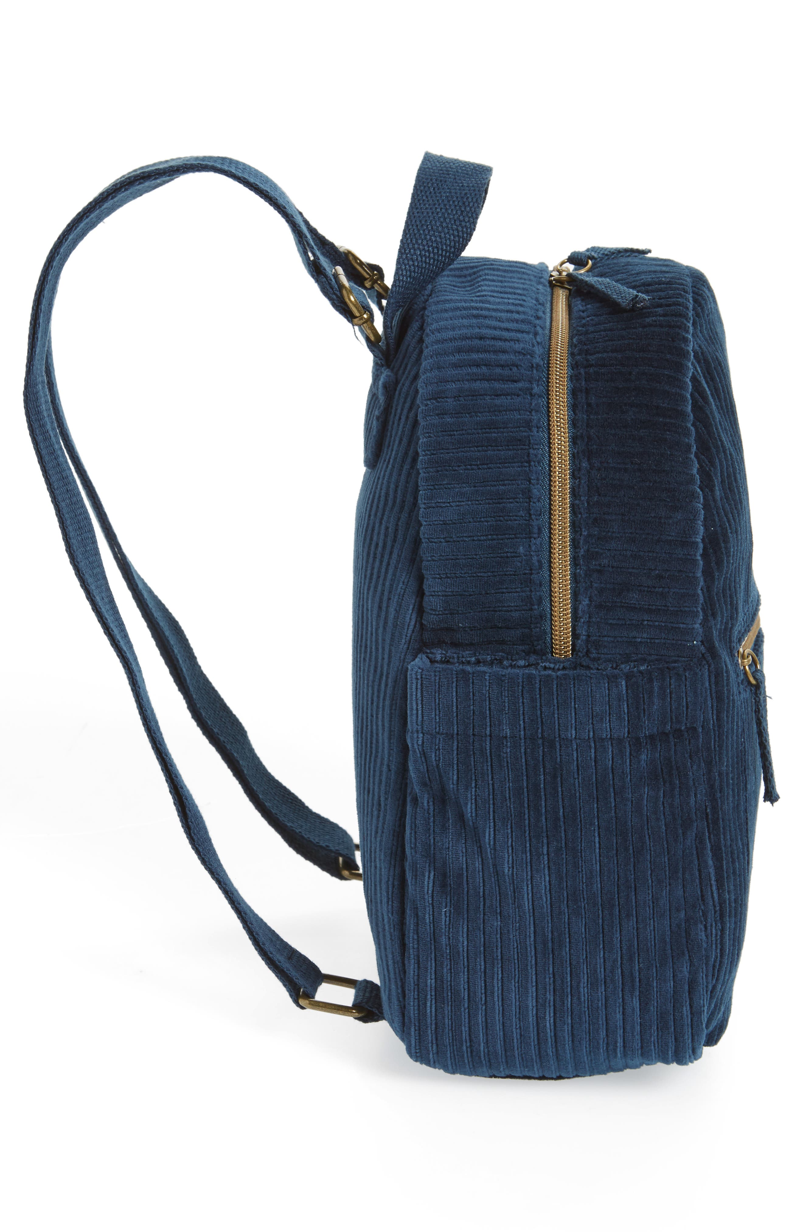 Corduroy Mini Backpack,                             Alternate thumbnail 5, color,                             440