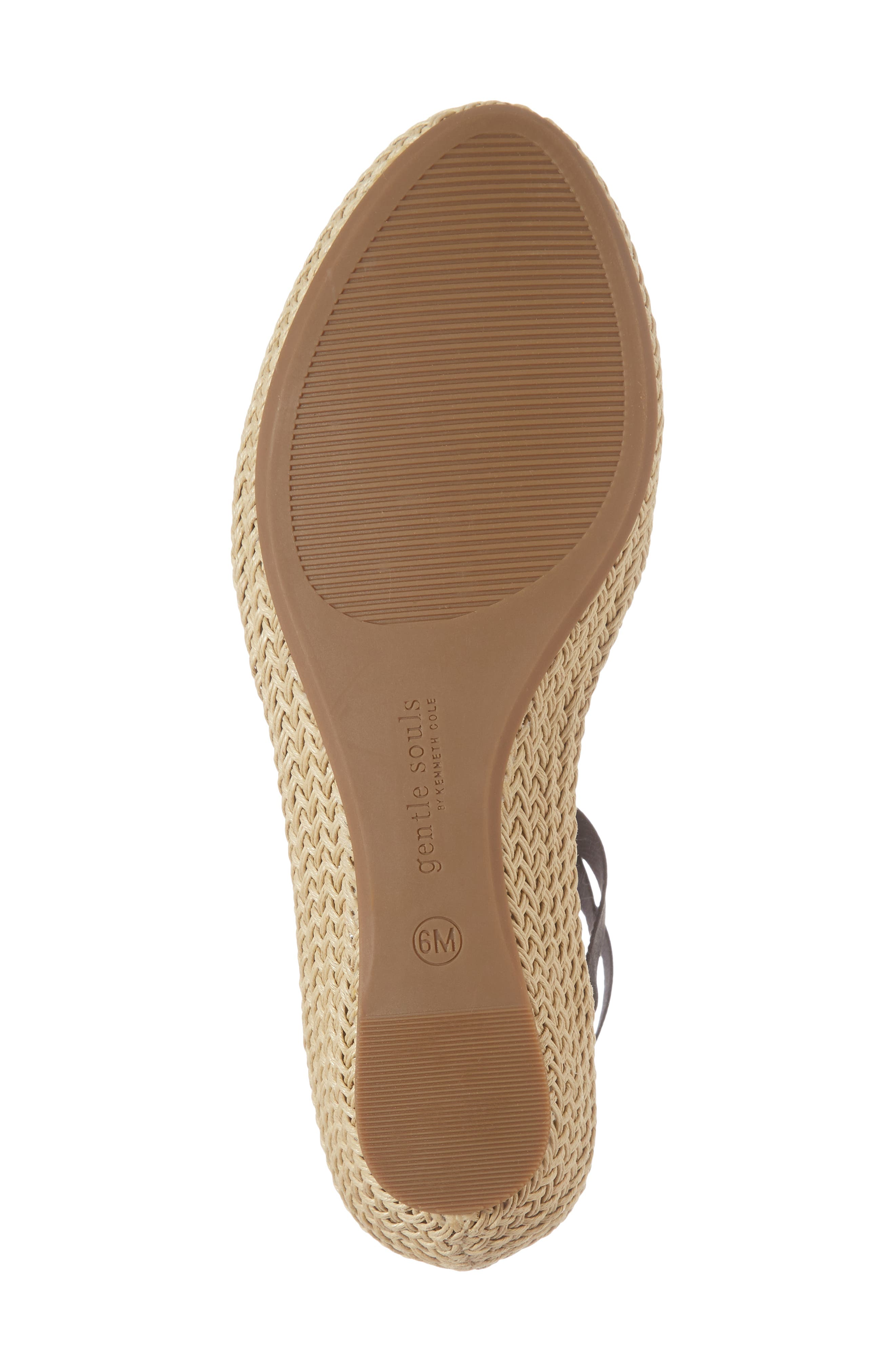 by Kenneth Cole Beth Espadrille Sandal,                             Alternate thumbnail 6, color,                             001