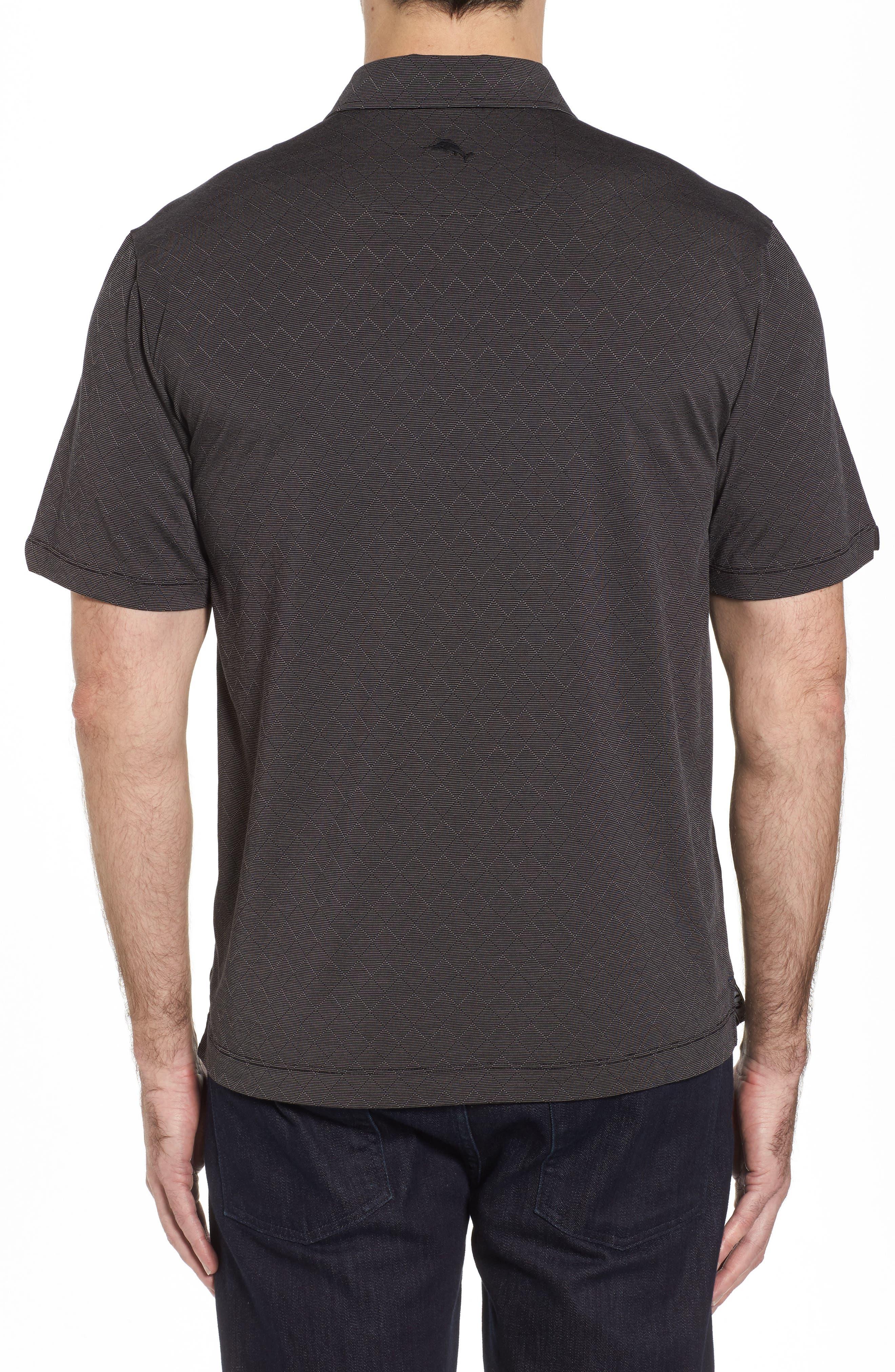 Diamond Drift Spectator Polo Shirt,                             Alternate thumbnail 2, color,                             001