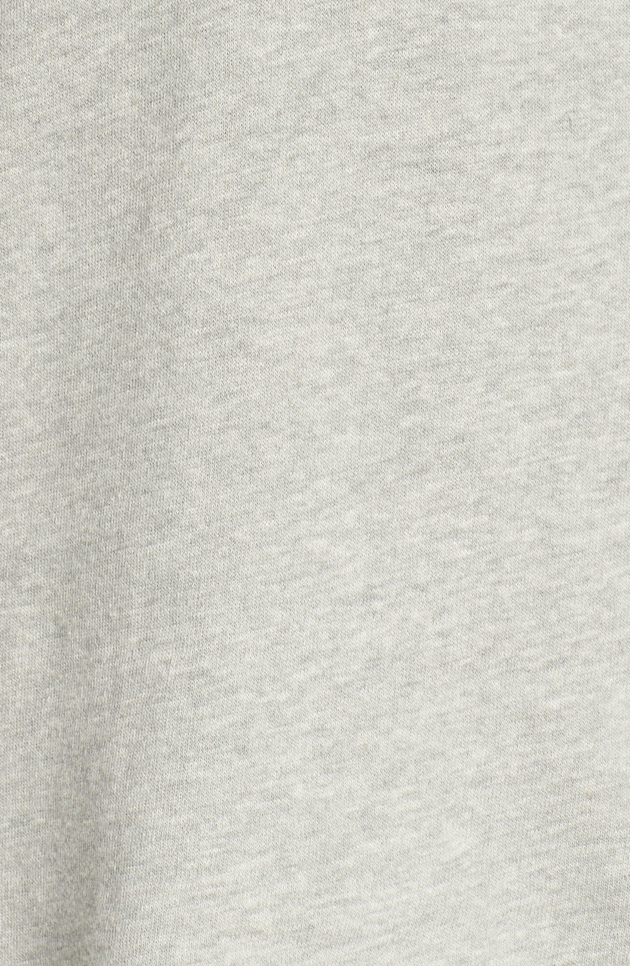Edwardo Bell Sleeve Hoodie,                             Alternate thumbnail 5, color,