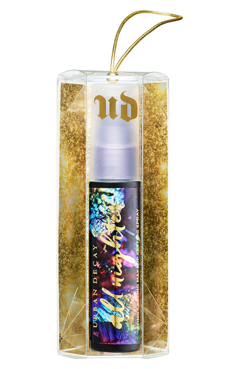 Urban Decay ALL NIGHTER LONG-LASTING MAKEUP SETTING SPRAY ORNAMENT - NO COLOR