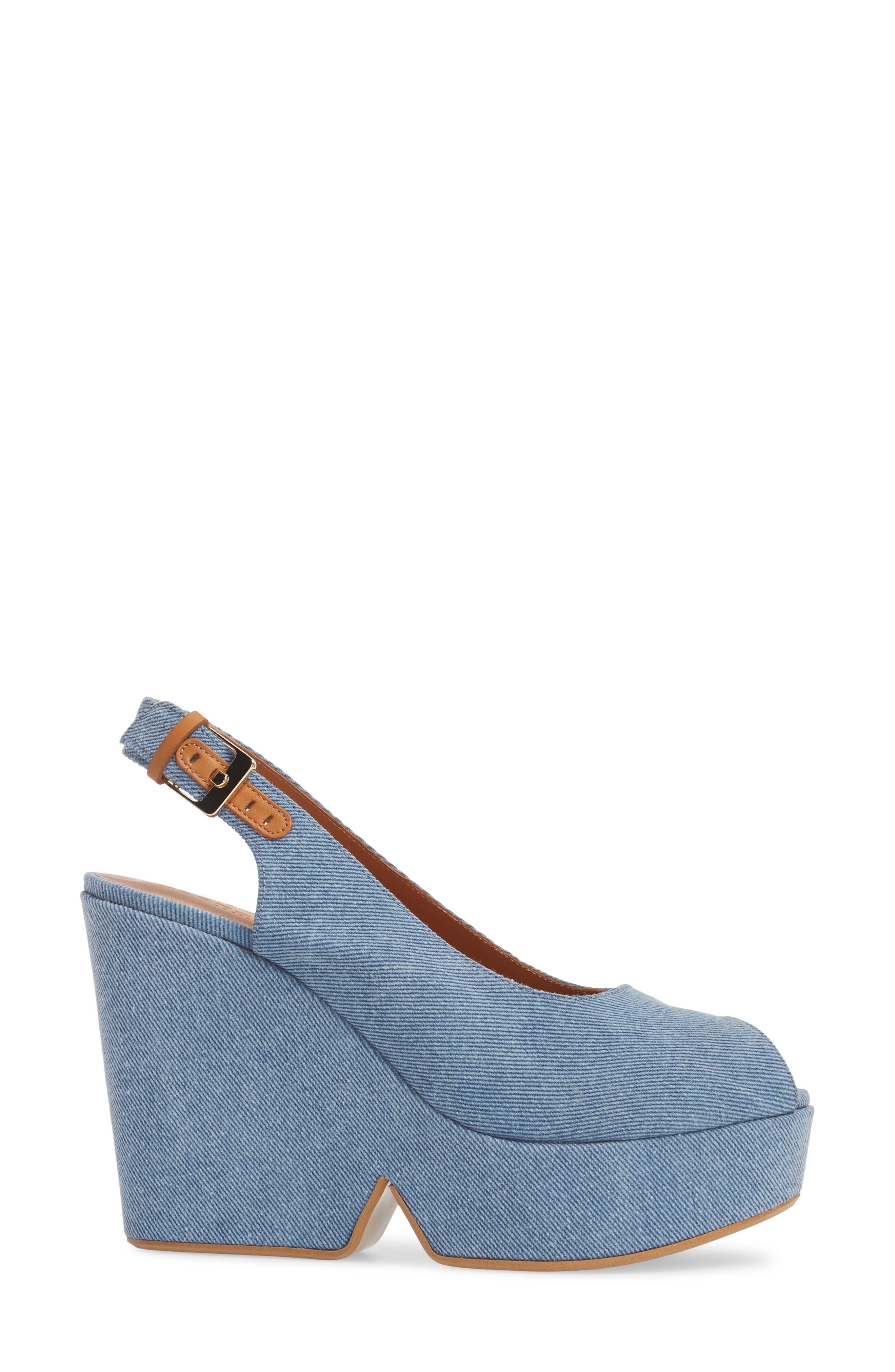Dylanto Platform Wedge Sandal,                             Alternate thumbnail 3, color,                             400