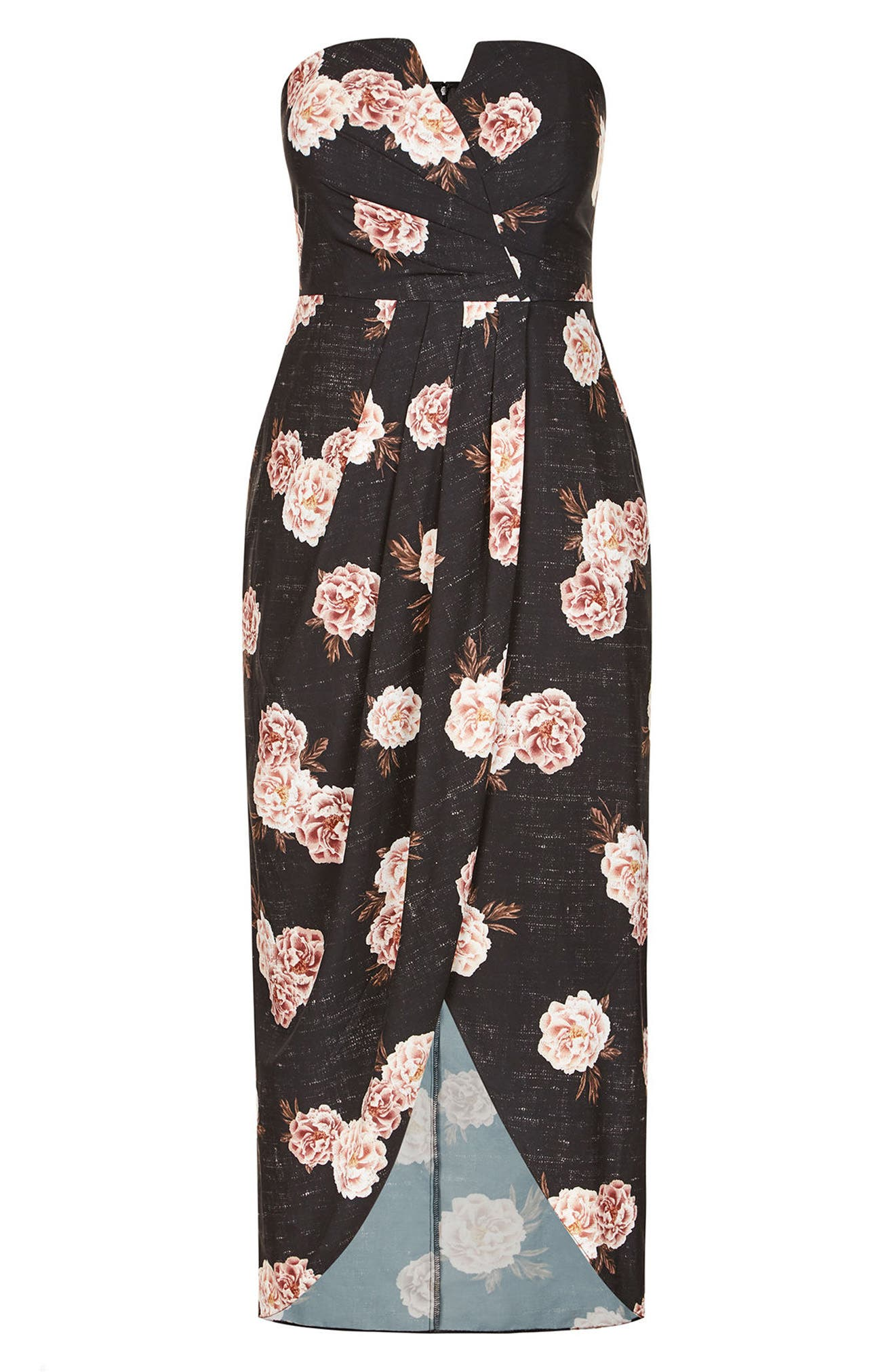 Antique Rose Maxi Dress,                             Alternate thumbnail 3, color,                             ANTIQUE ROSE
