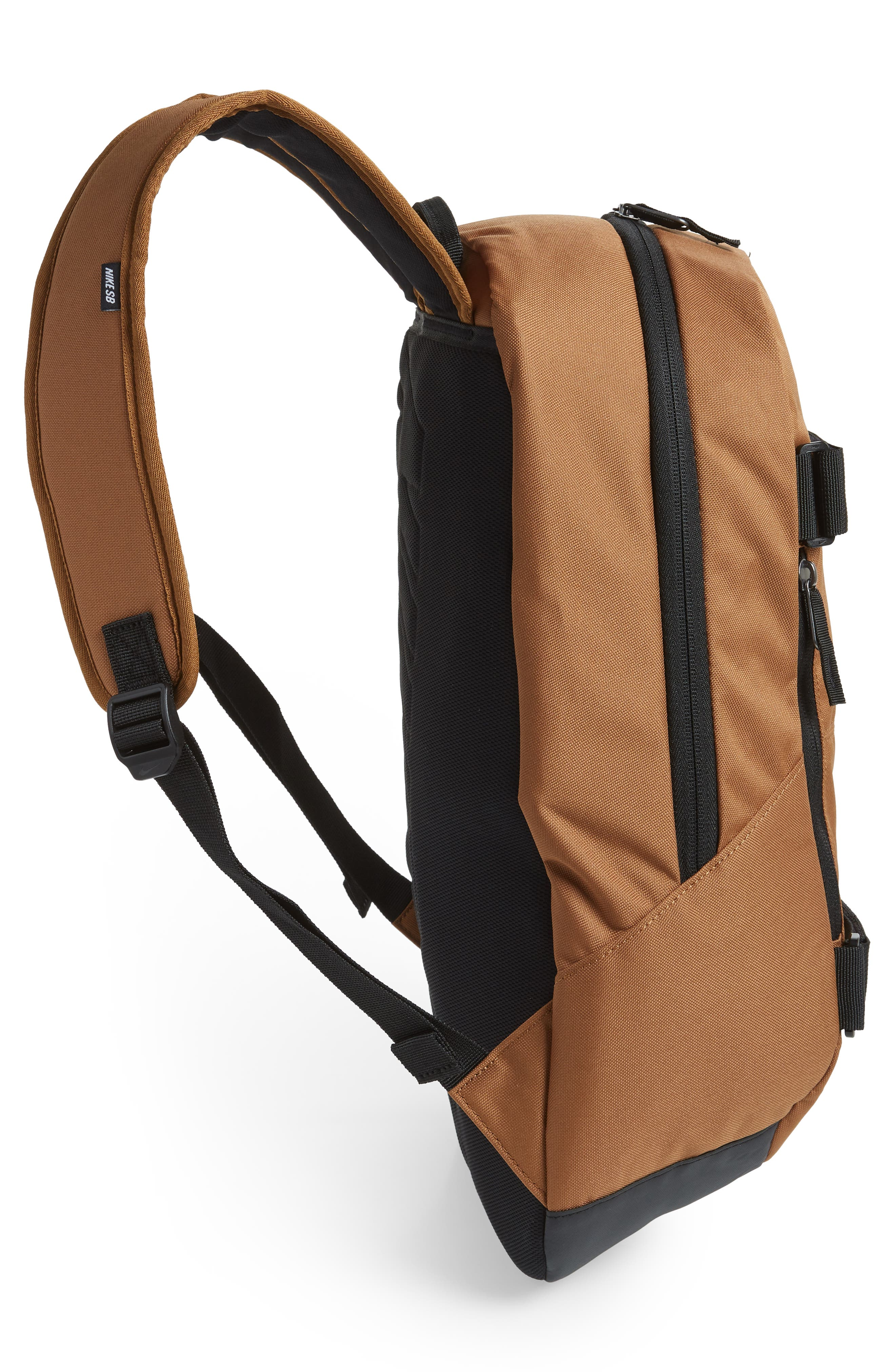 Courthouse Backpack,                             Alternate thumbnail 5, color,                             ALE BROWN