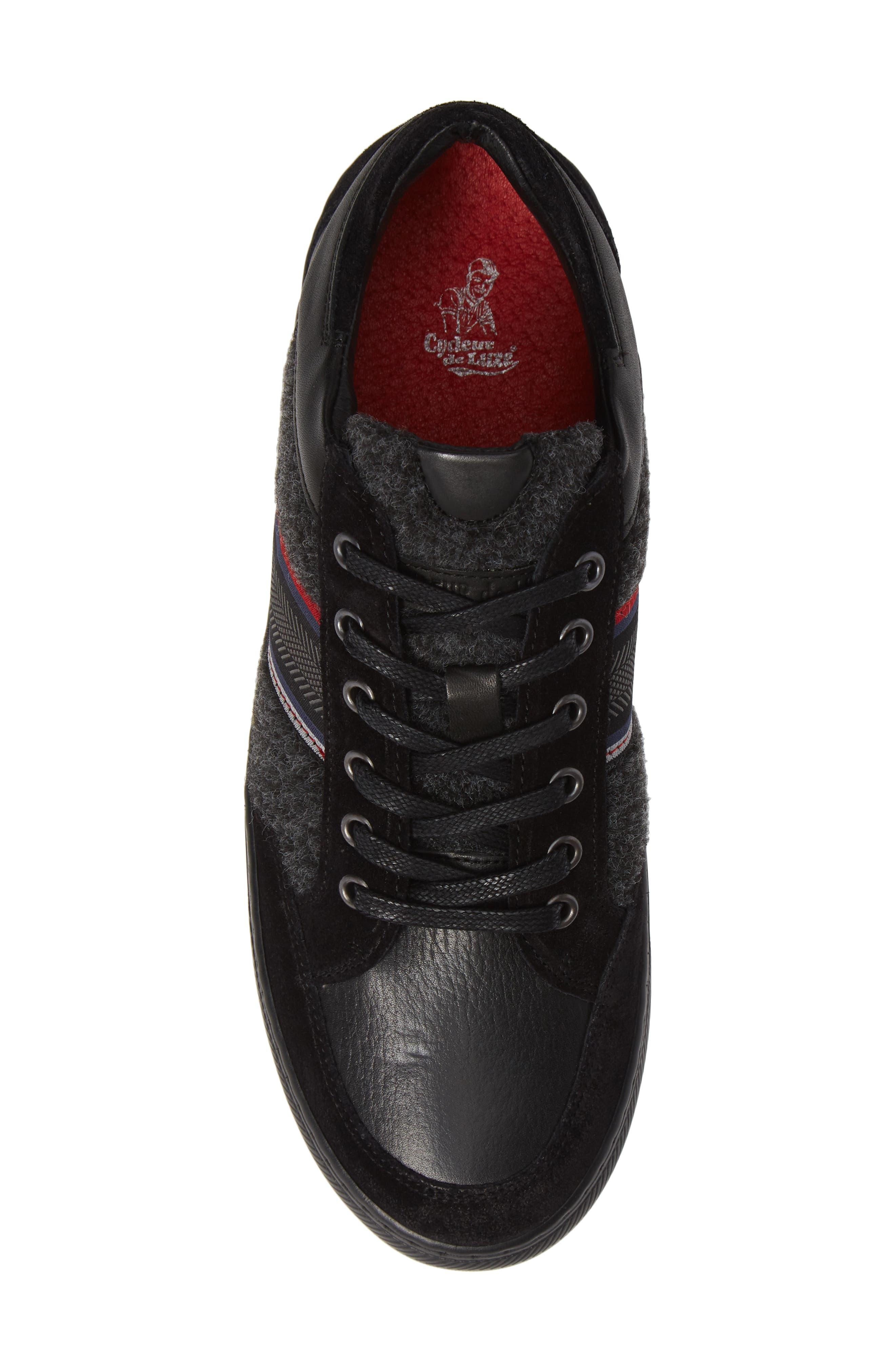 Poggio Sneaker,                             Alternate thumbnail 5, color,                             BLACK