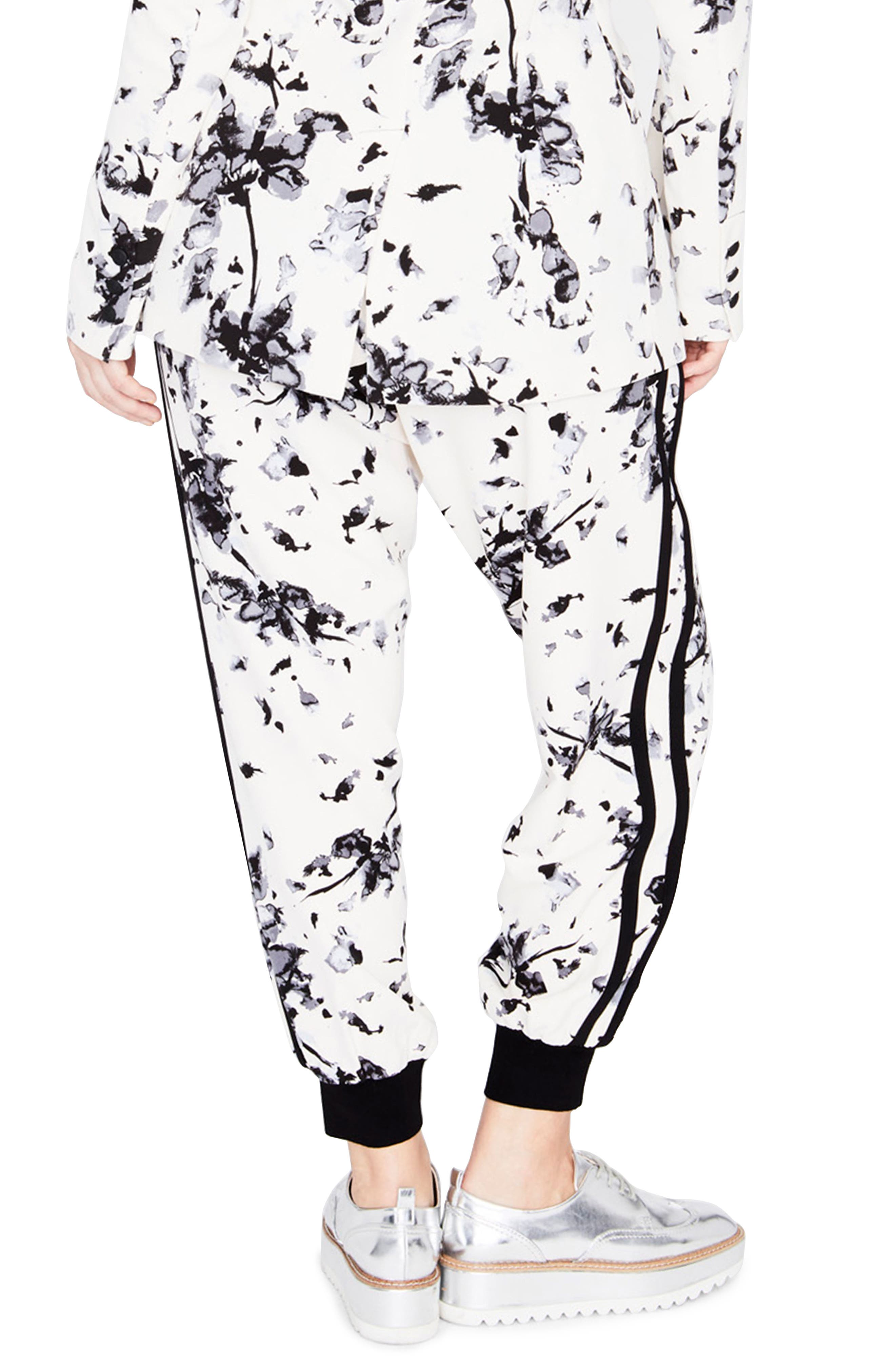 Floral Jogger Pants,                             Alternate thumbnail 2, color,                             909
