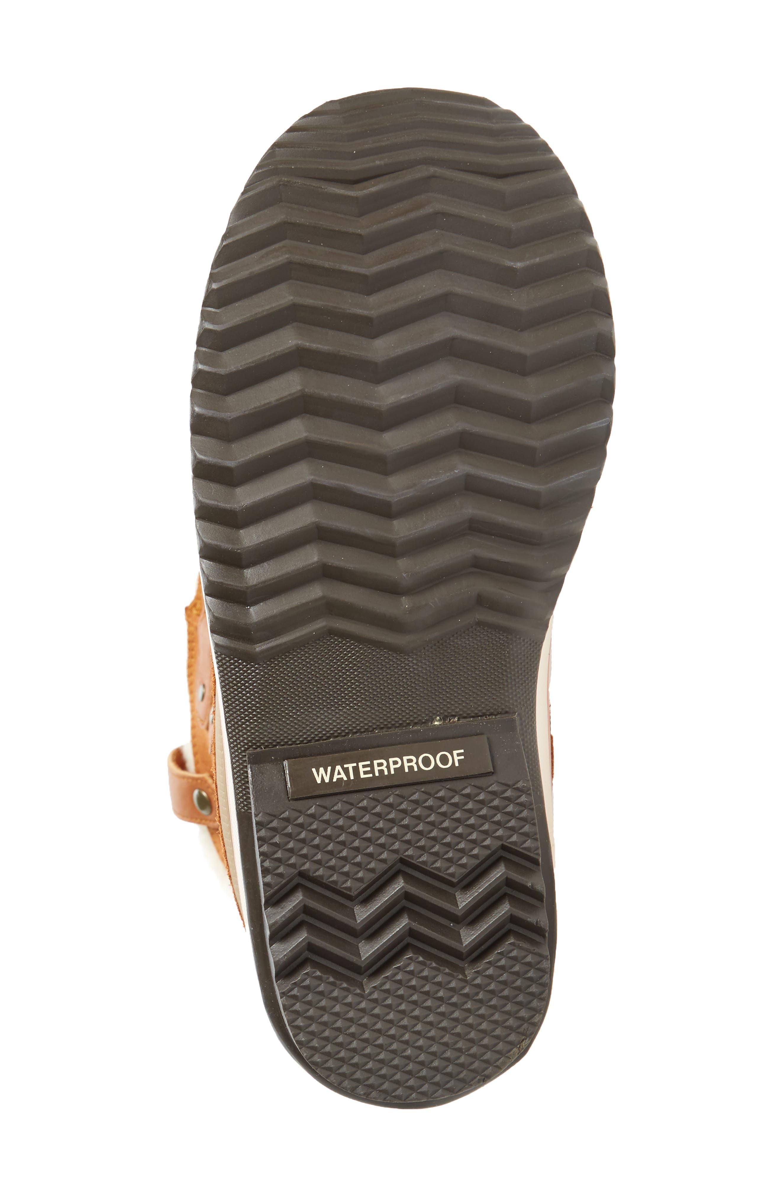 Joan of Arctic Genuine Shearling Waterproof Boot,                             Alternate thumbnail 18, color,