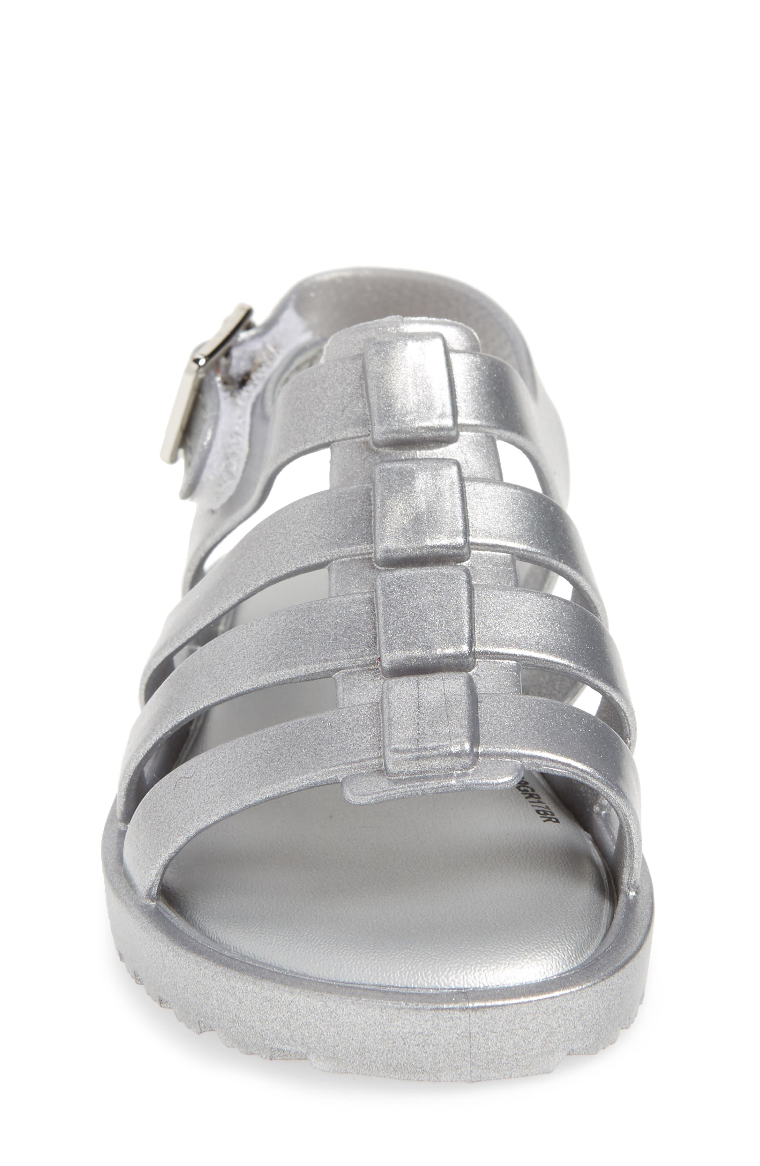 Mini Flox Shine Sandal,                             Alternate thumbnail 4, color,                             042