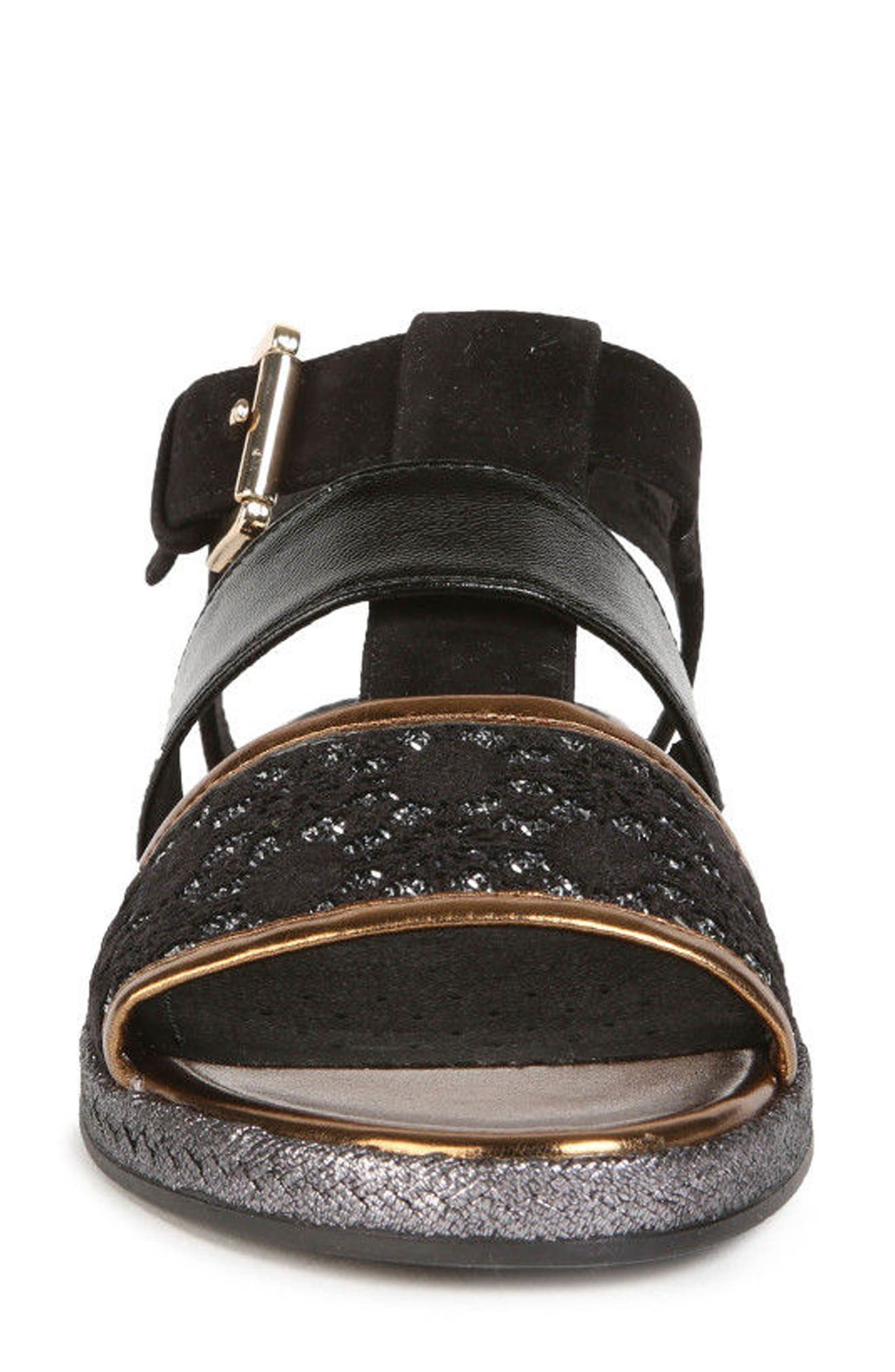 Kolleen Sandal,                             Alternate thumbnail 4, color,                             BLACK
