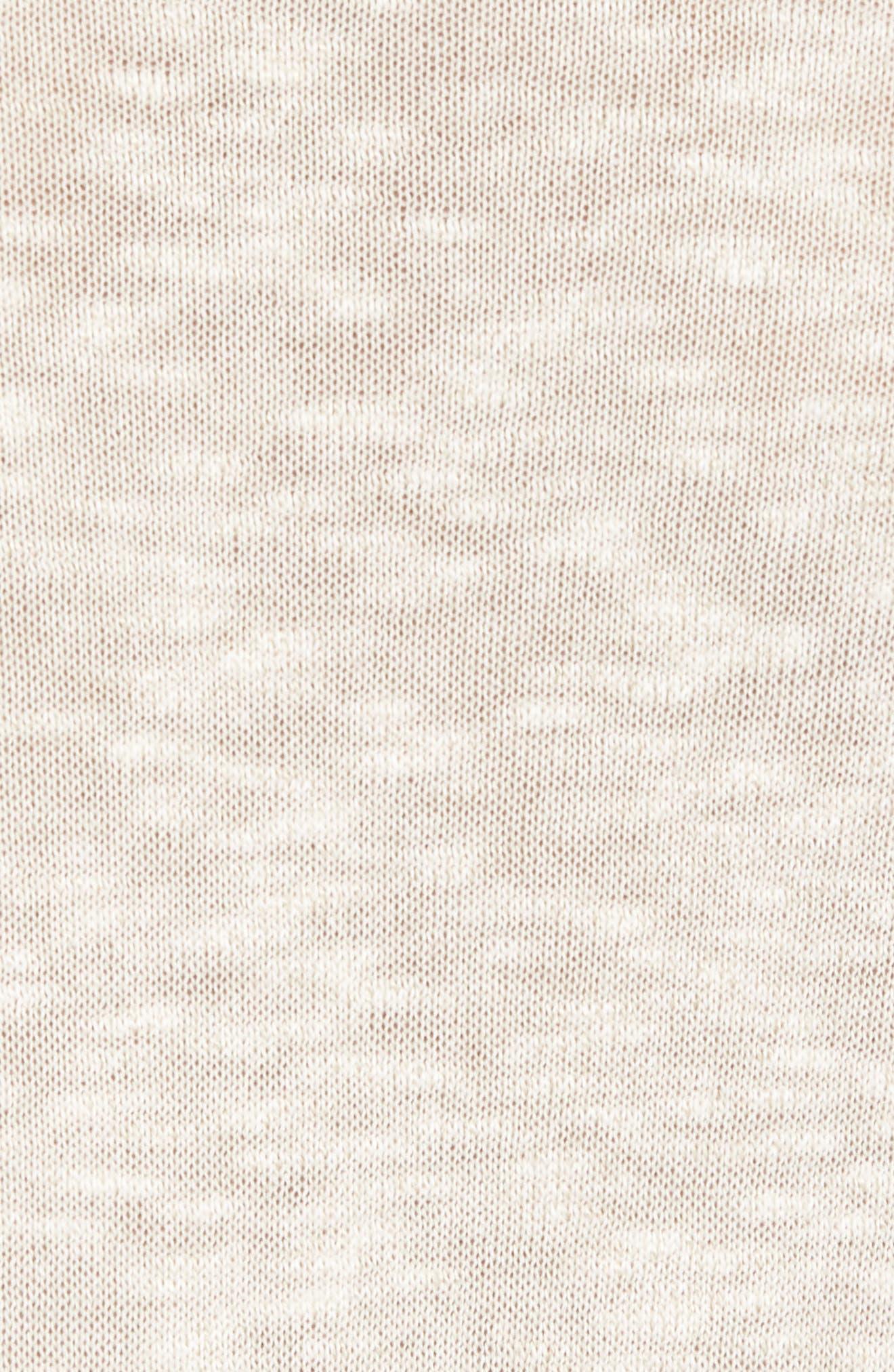Slim Fit Cotton Blend Sweater,                             Alternate thumbnail 5, color,                             072