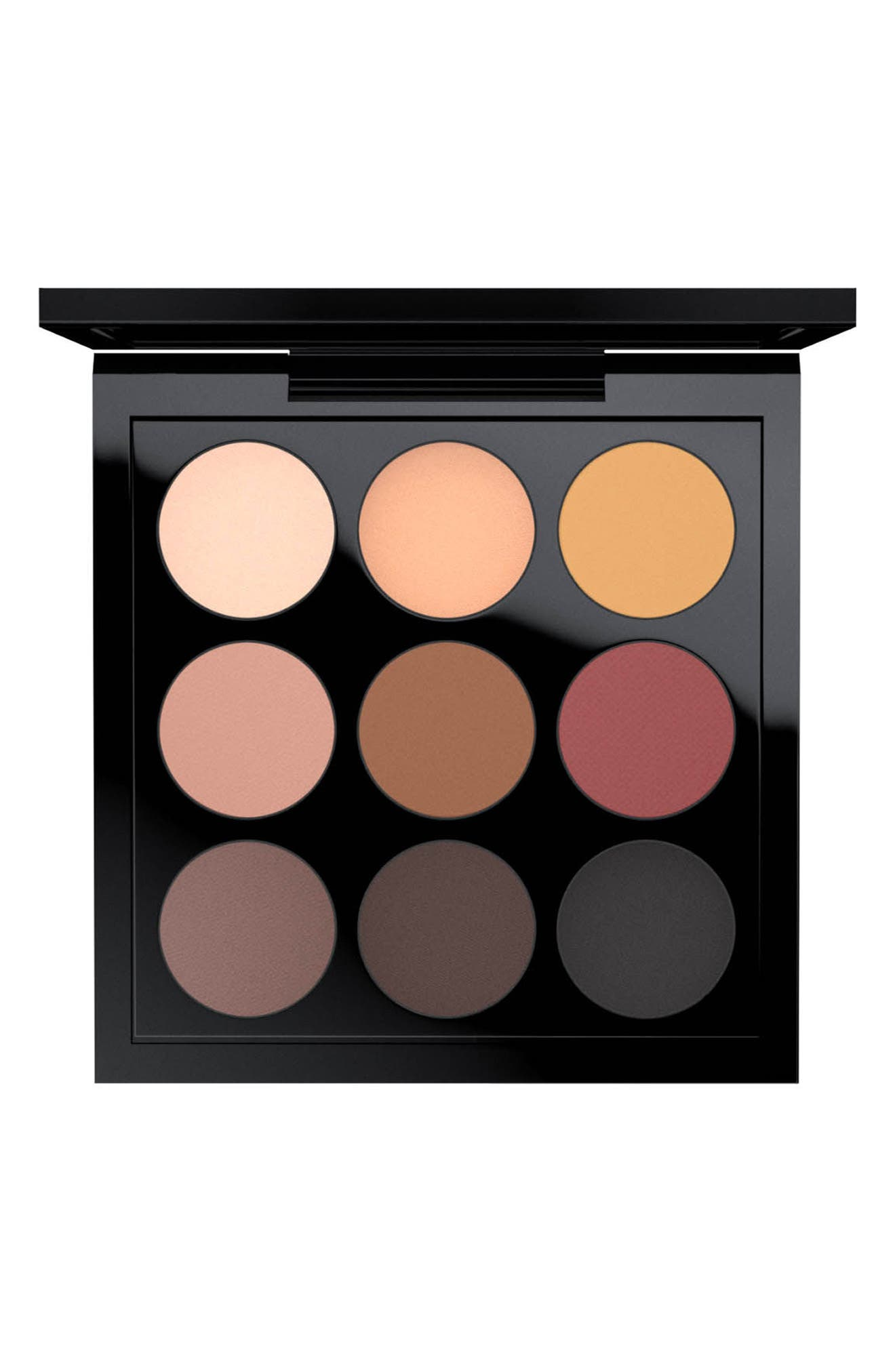 MAC Times Nine Eyeshadow Palette,                             Main thumbnail 1, color,                             SEMI-SWEET TIMES NINE