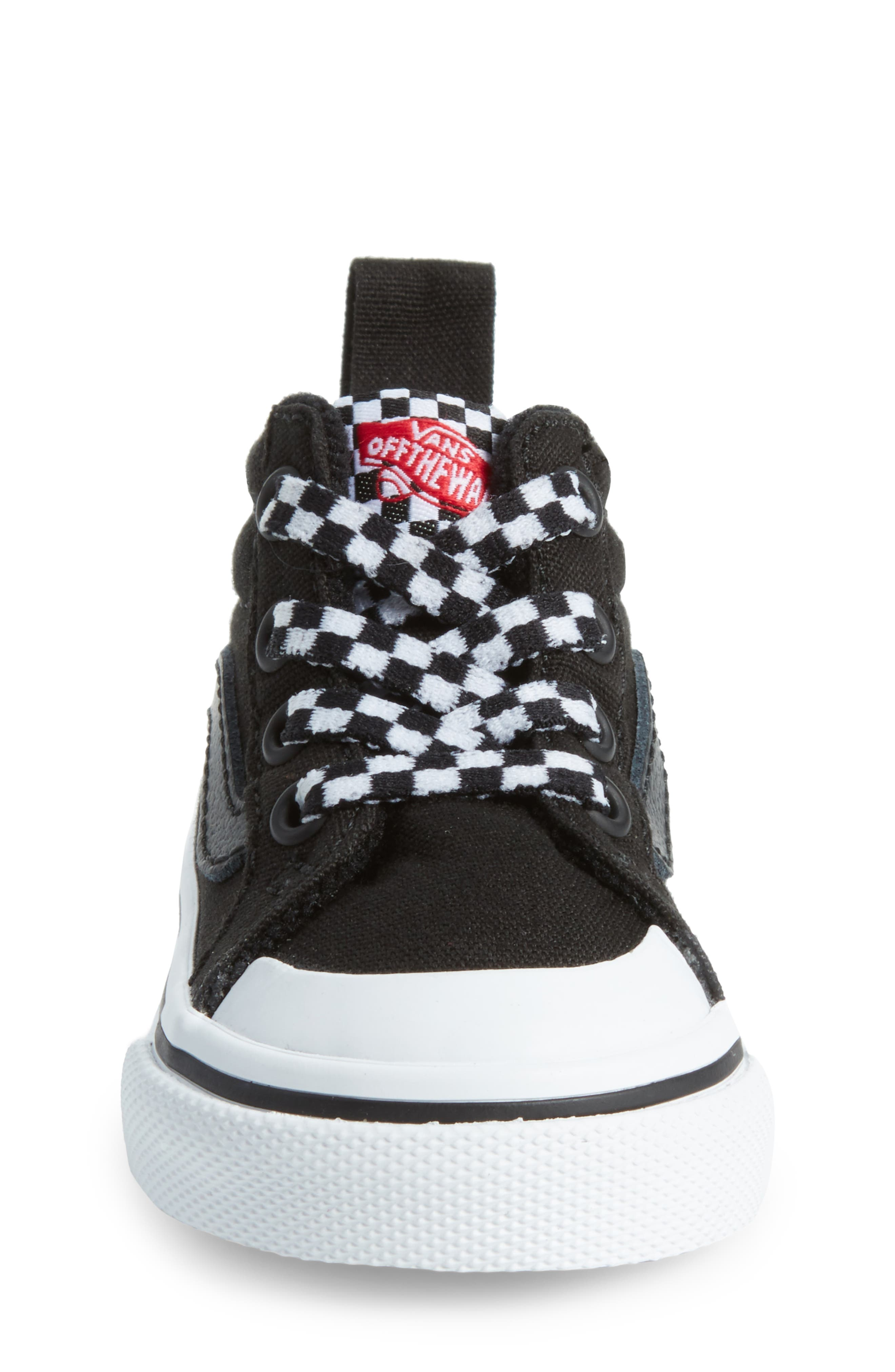 Racer Mid Elastic Lace Sneaker,                             Alternate thumbnail 23, color,