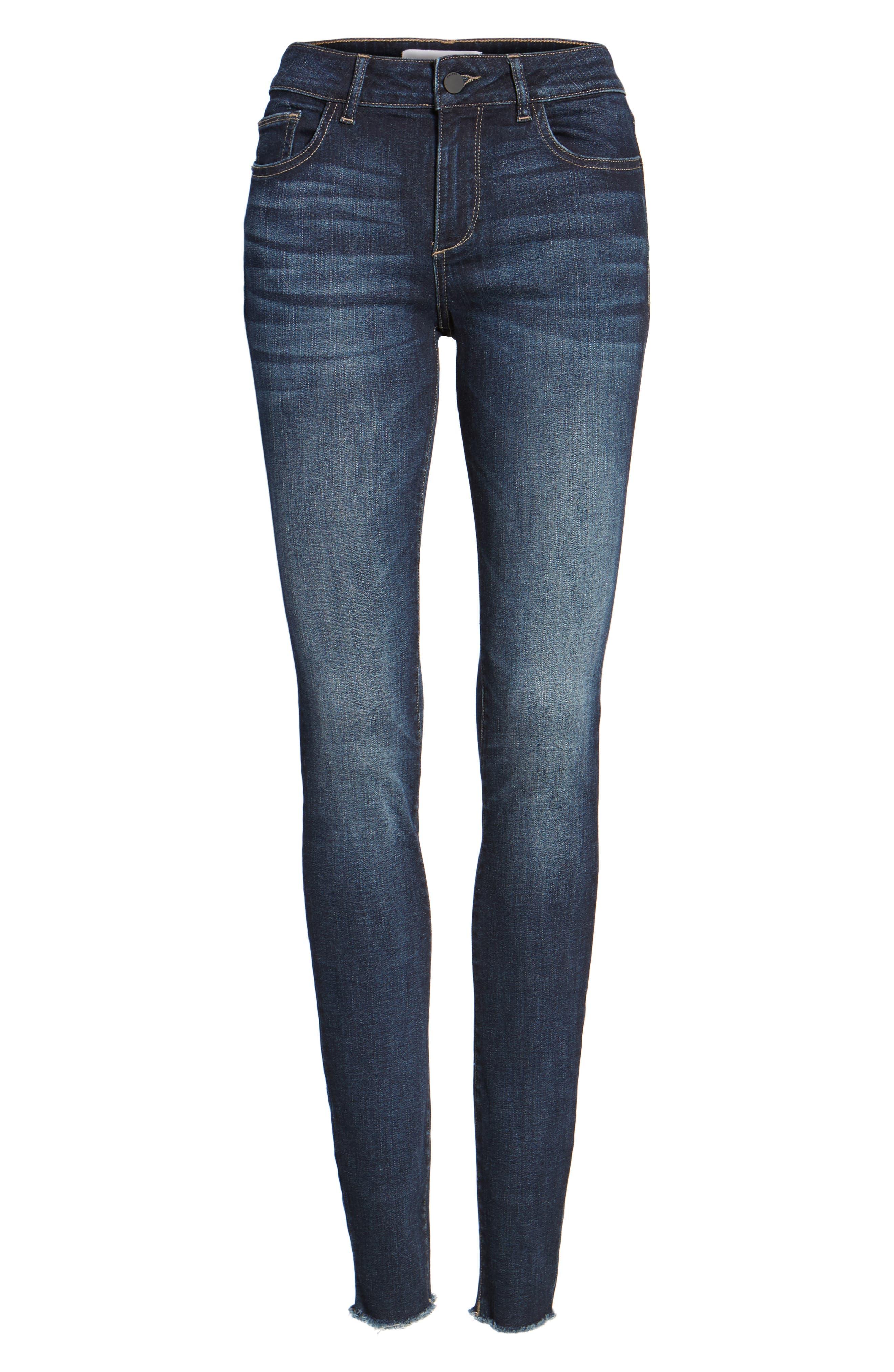 Danny Instasculpt Supermodel Skinny Jeans,                             Alternate thumbnail 6, color,                             405