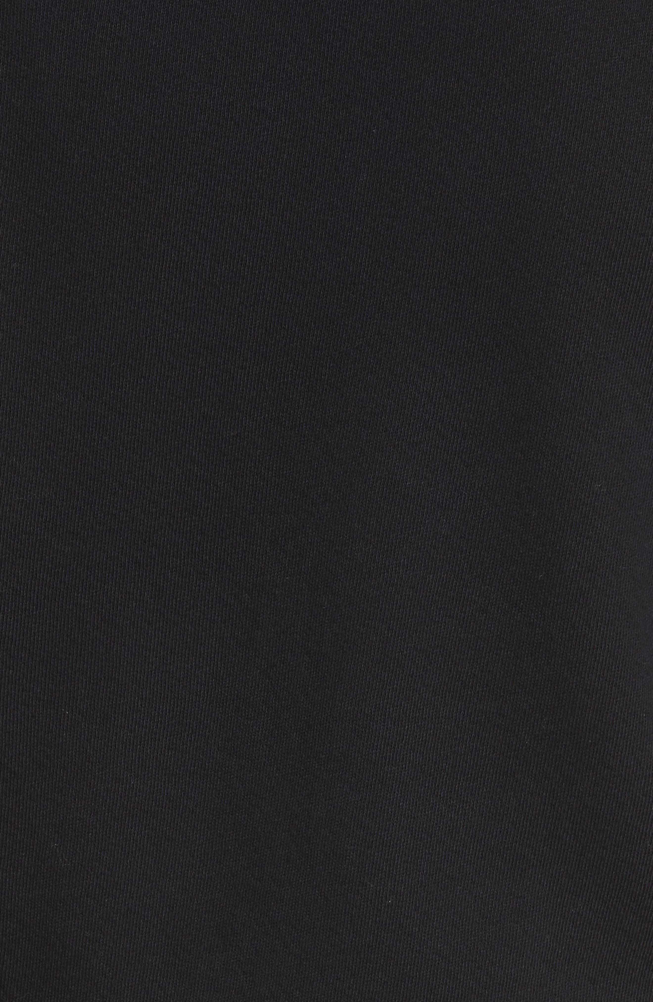 Lucya Tie Waist Cotton Minidress,                             Alternate thumbnail 5, color,                             002