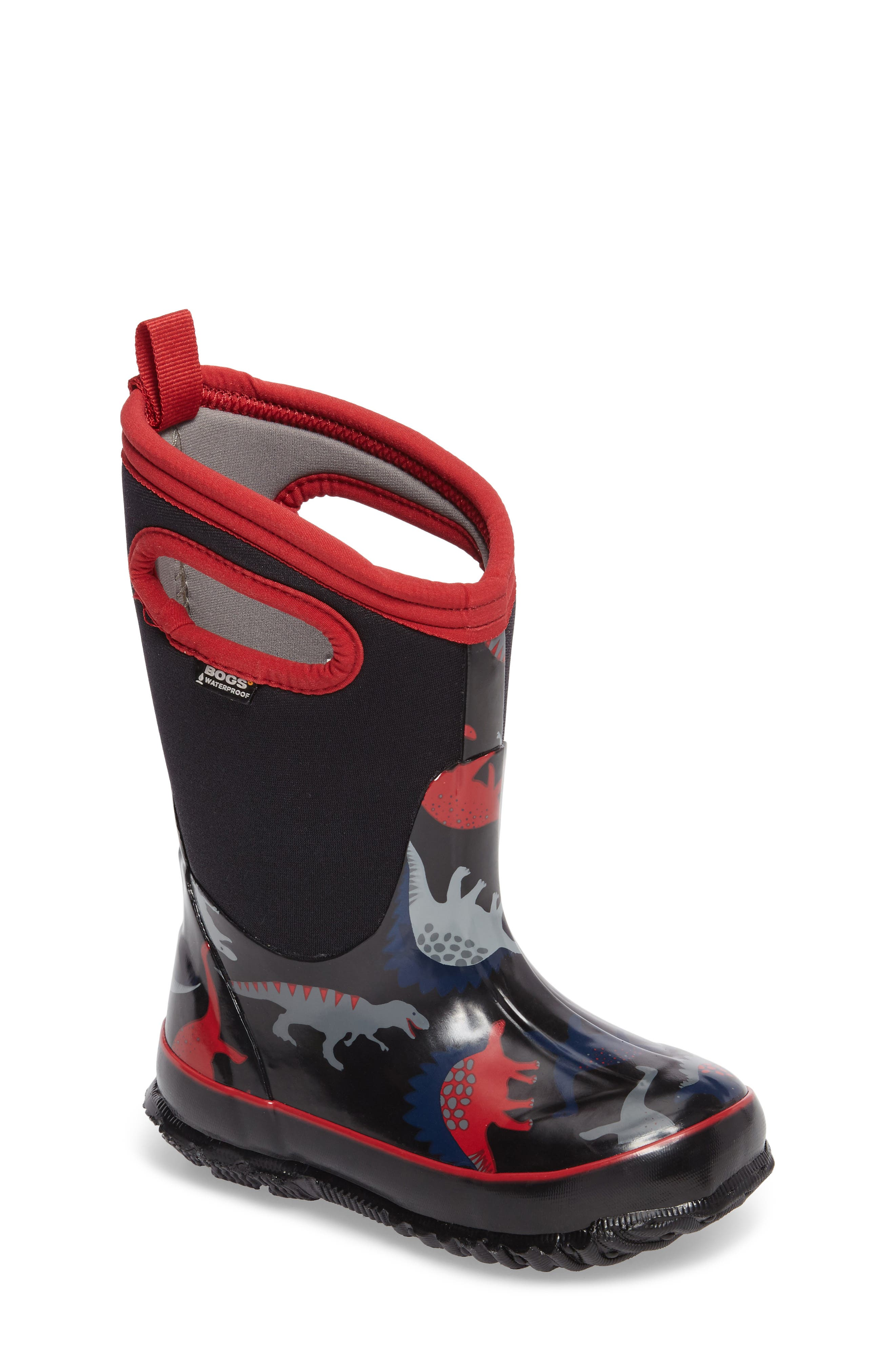Classic Dino Insulated Waterproof Boot,                             Main thumbnail 2, color,