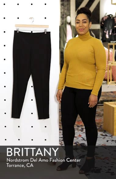 Side Zip Double Weave Pants, sales video thumbnail