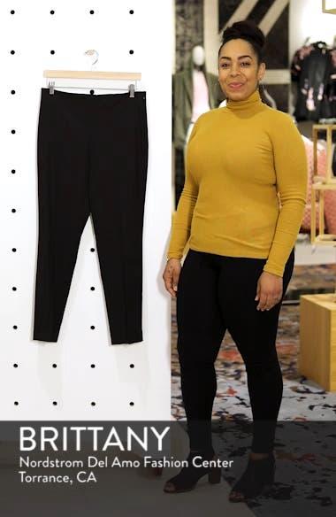 Side Zip Double Weave Pants, sales video thumbnail