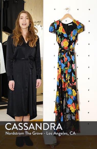 Erika Ruffle High/Low Midi Dress, sales video thumbnail