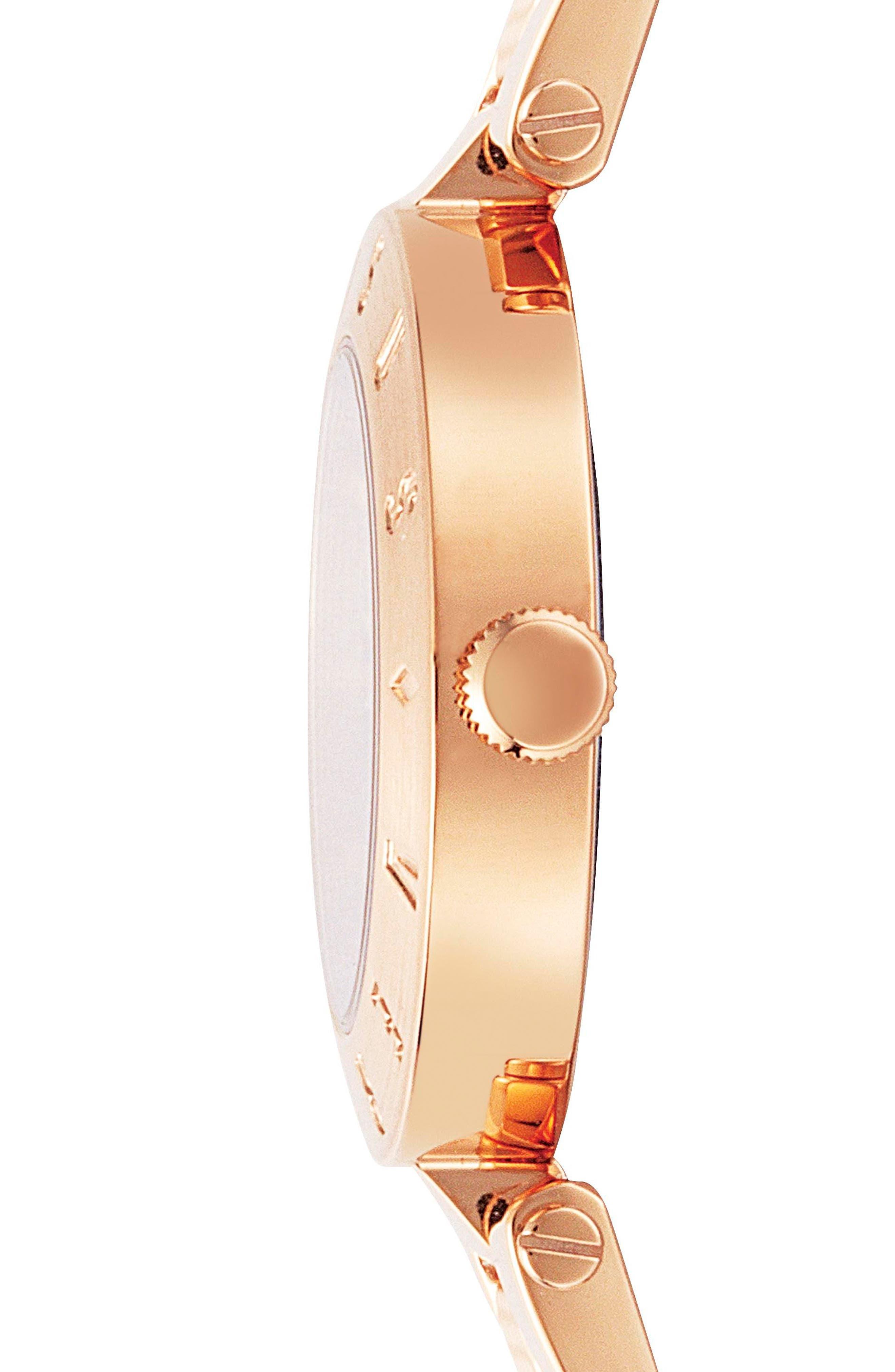 Versus by Versace New Logo Bracelet Watch, 34mm,                             Alternate thumbnail 6, color,