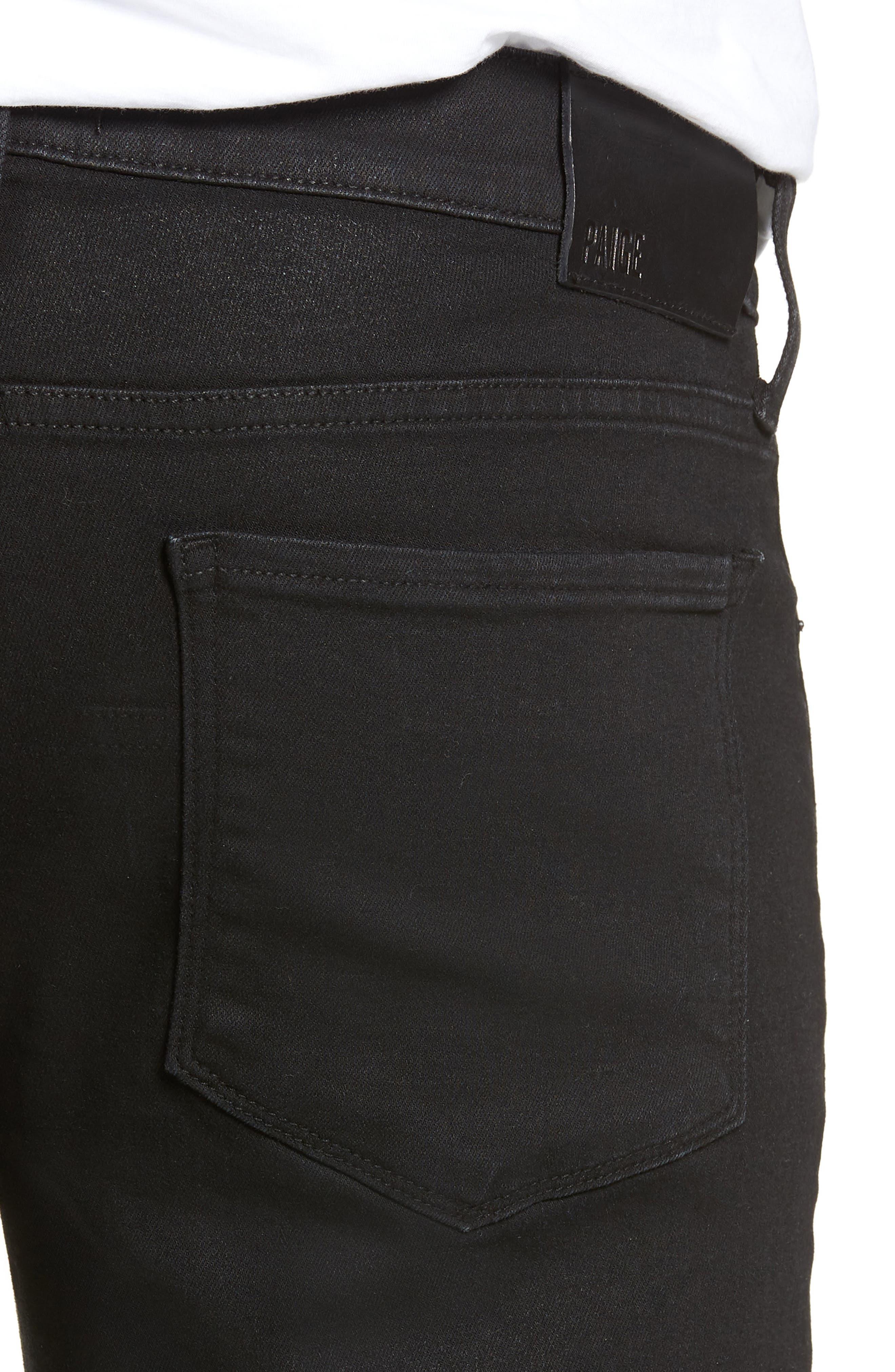 Transcend - Croft Skinny Fit Jeans,                             Alternate thumbnail 4, color,                             400