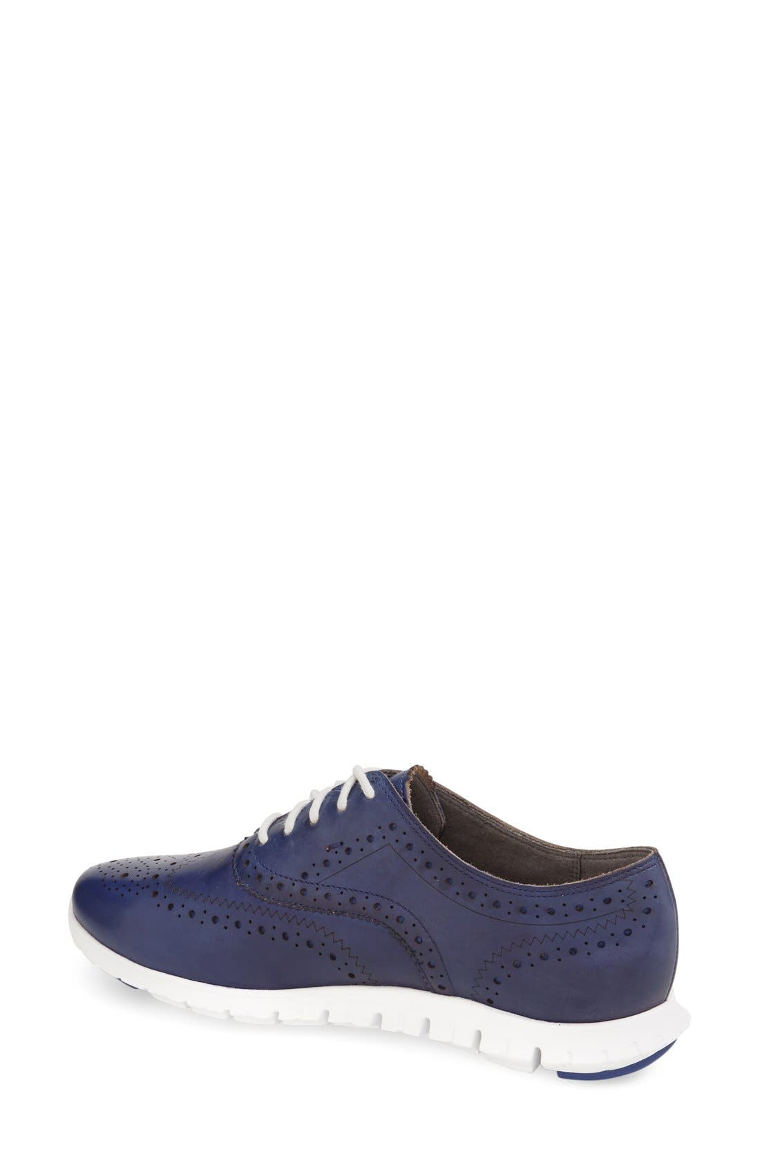 'ZeroGrand' Perforated Wingtip,                             Alternate thumbnail 50, color,