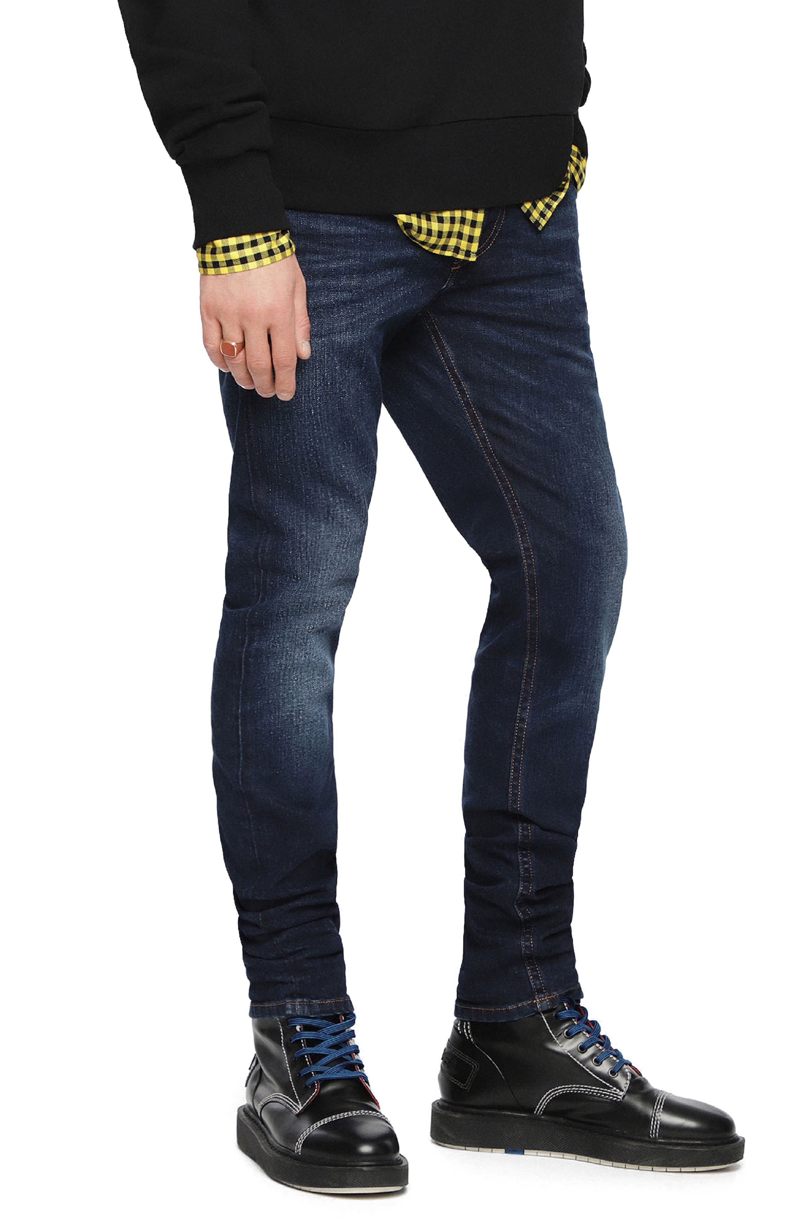 DIESEL<SUP>®</SUP>,                             Thommer Slim Fit Jeans,                             Alternate thumbnail 4, color,                             084VG