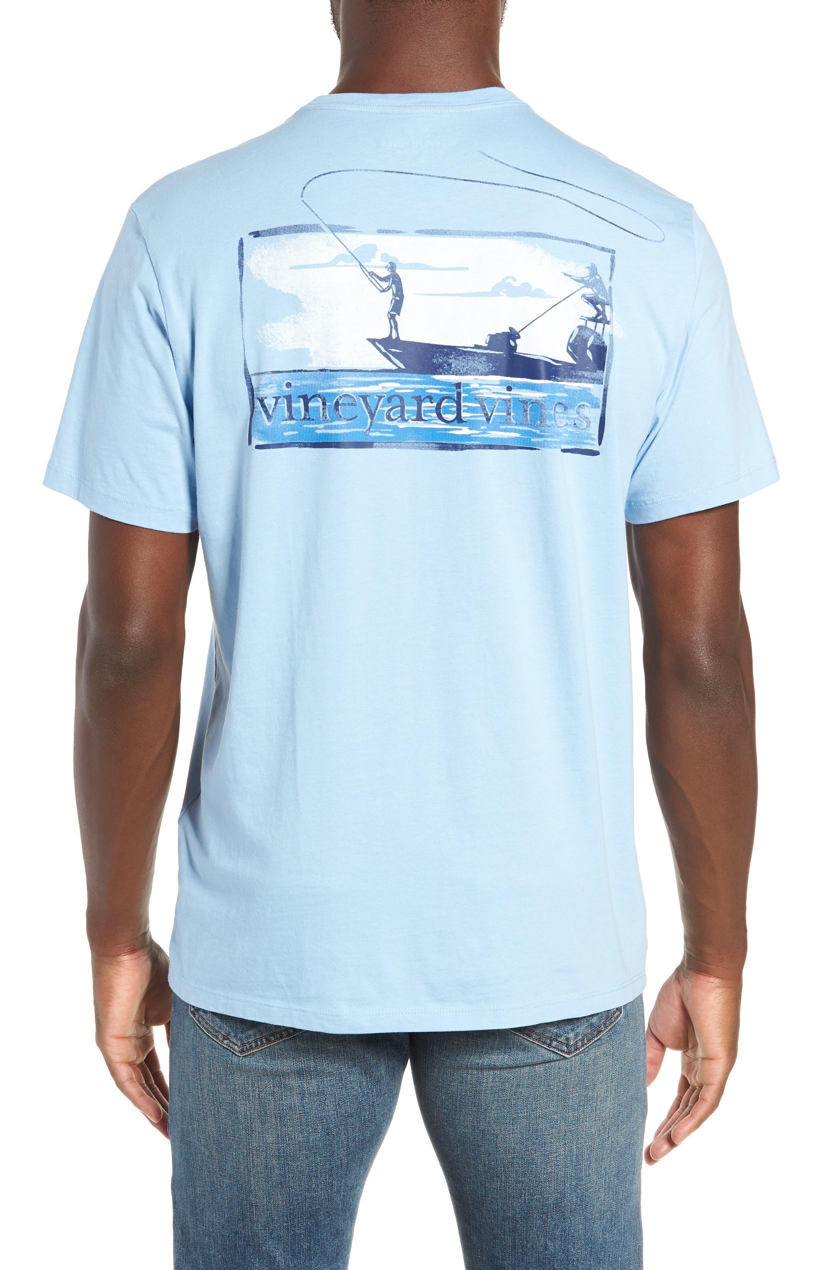 Flats Fishing Pocket T-Shirt,                             Alternate thumbnail 2, color,                             456