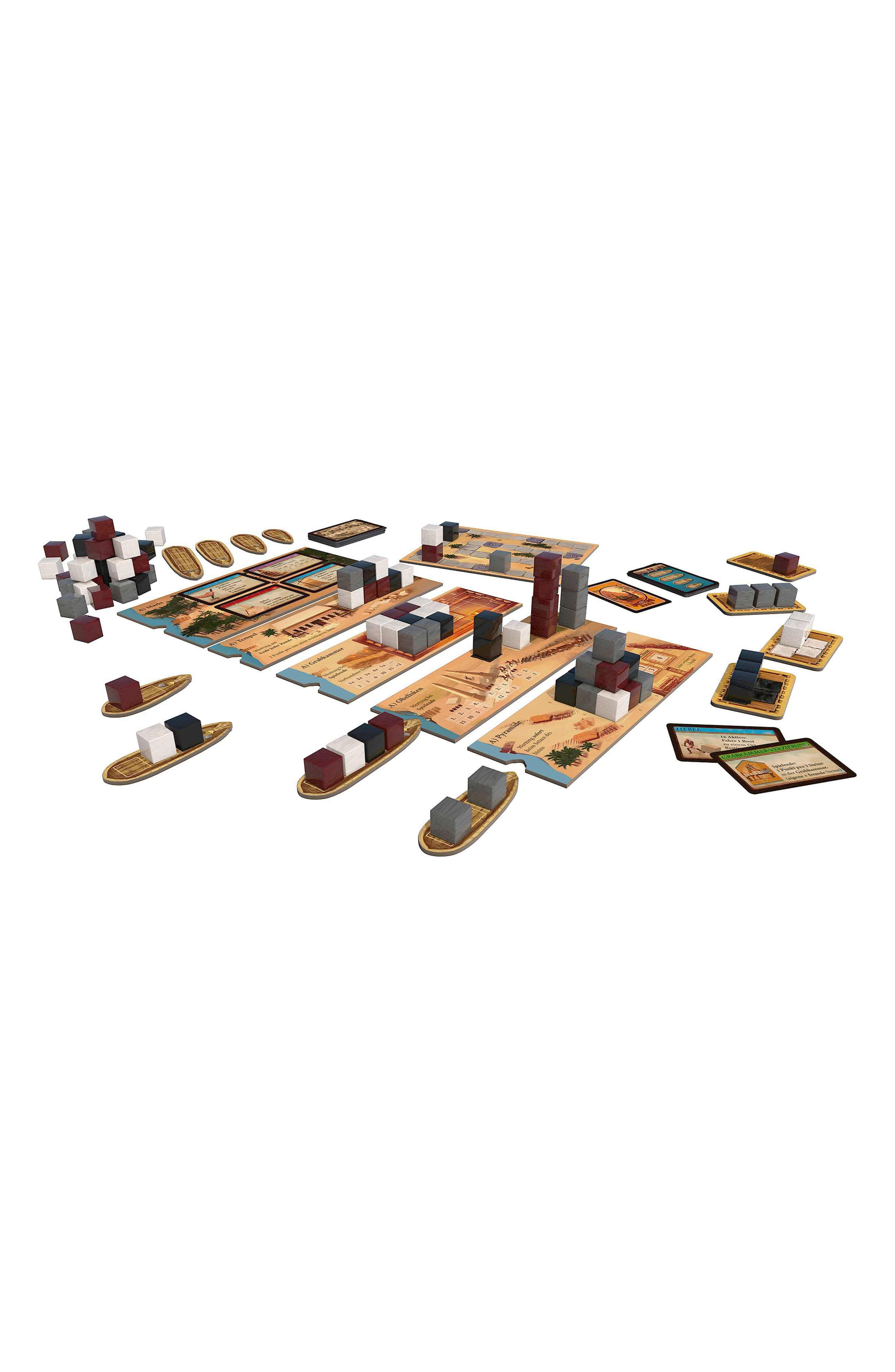 Imhotep - Builder of Egypt Board Game,                             Alternate thumbnail 3, color,                             NO COLOR