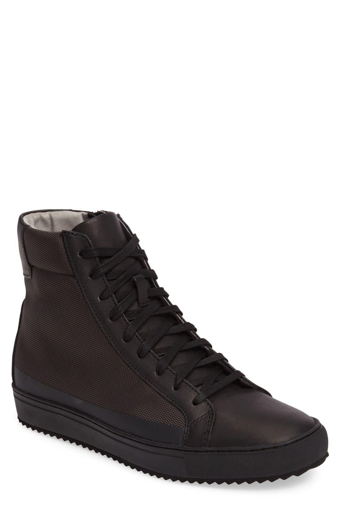 Logan Water Resistant High Top Sneaker,                             Main thumbnail 2, color,