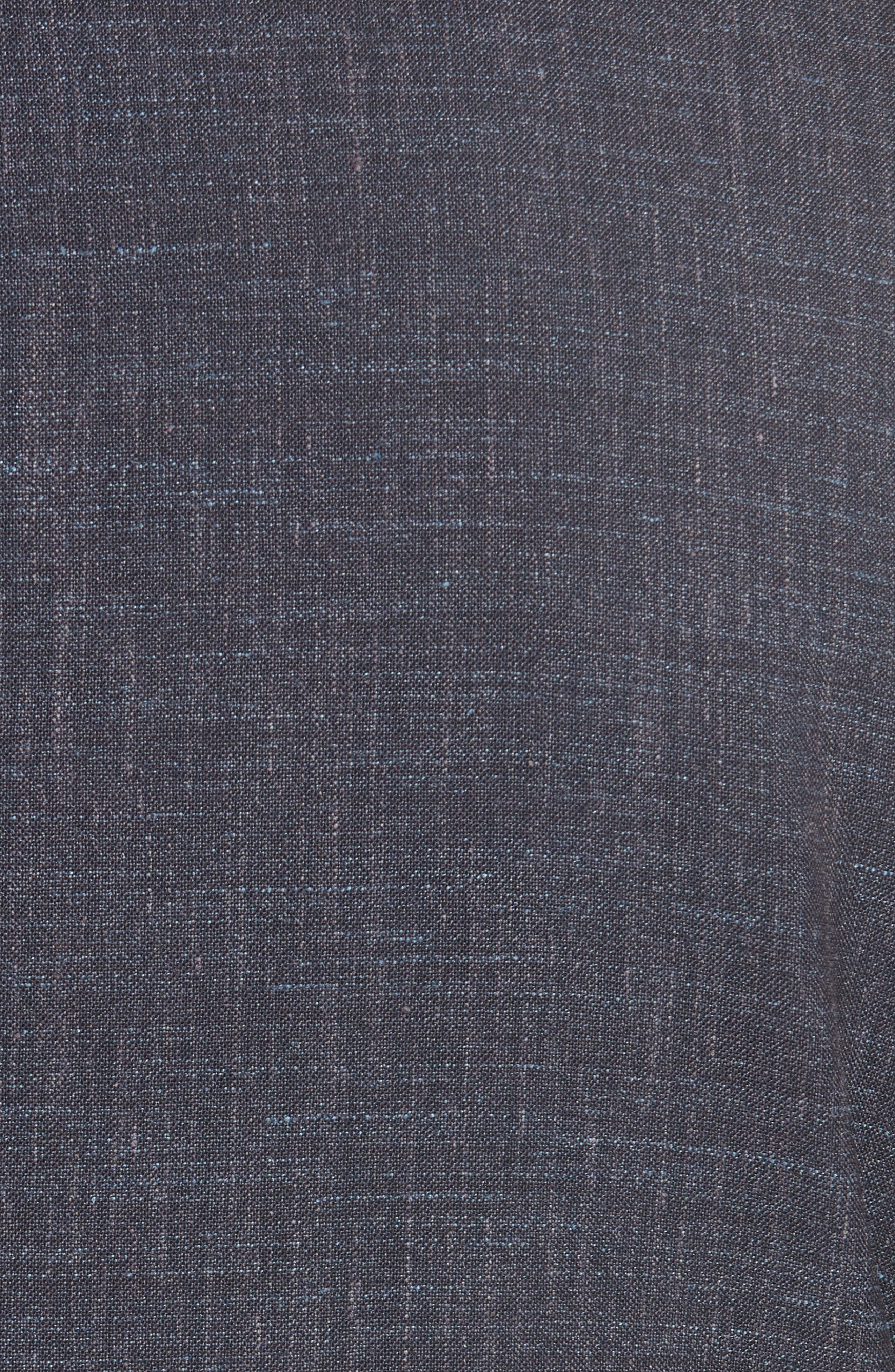 Trim Fit Wool Blend Blazer,                             Alternate thumbnail 6, color,